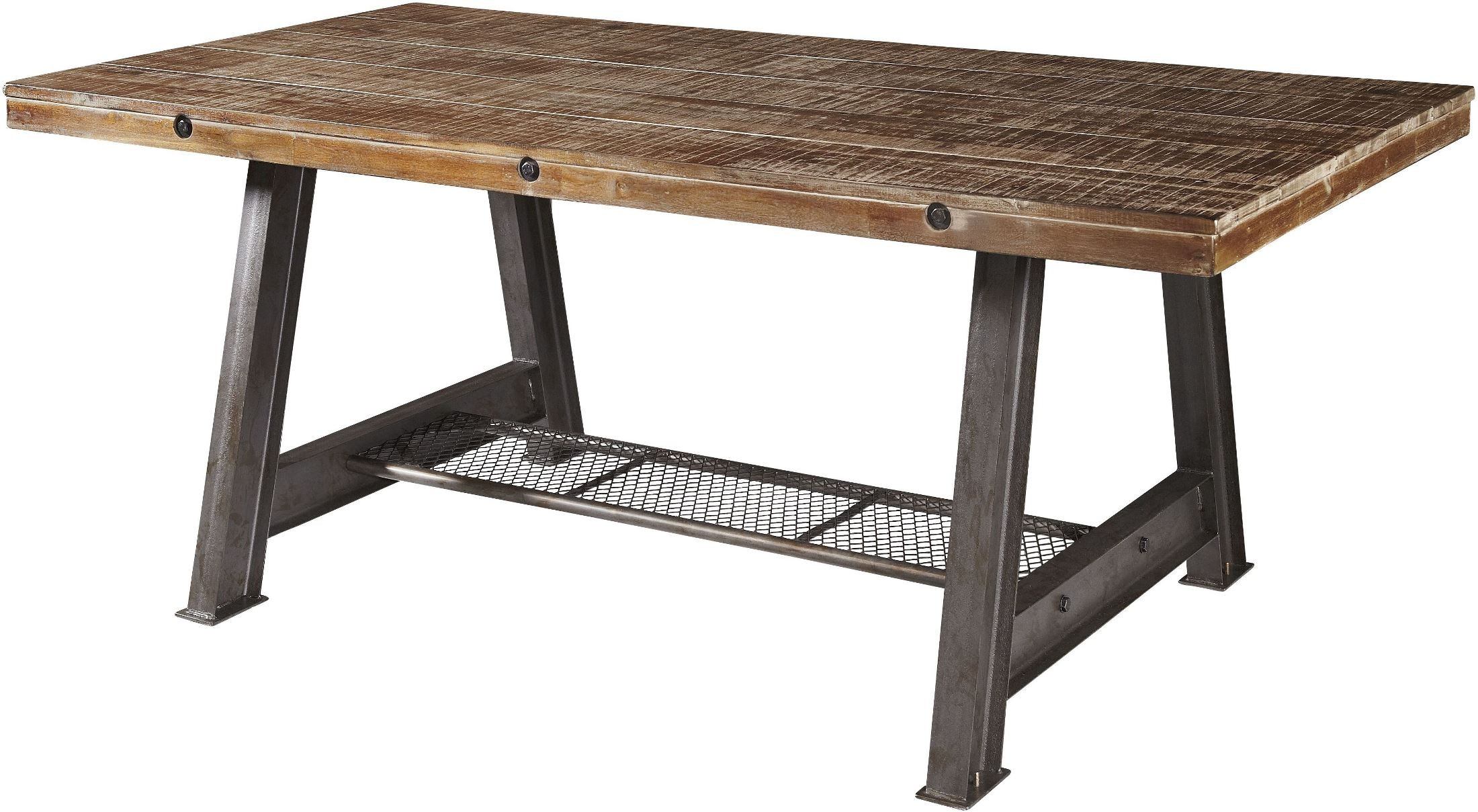 Dark beach dining table from avalon furniture coleman for Beach dining table