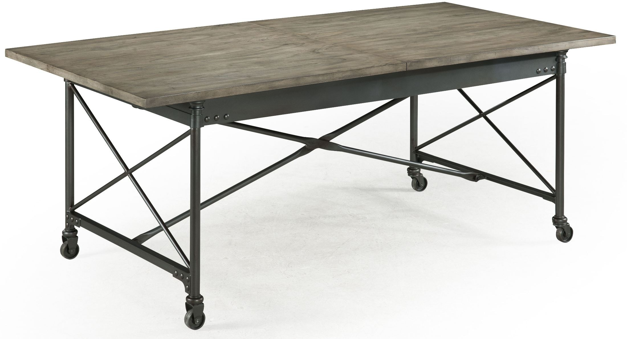 Dining Table Extendable Walton Rectangular Dining Table With Casters From