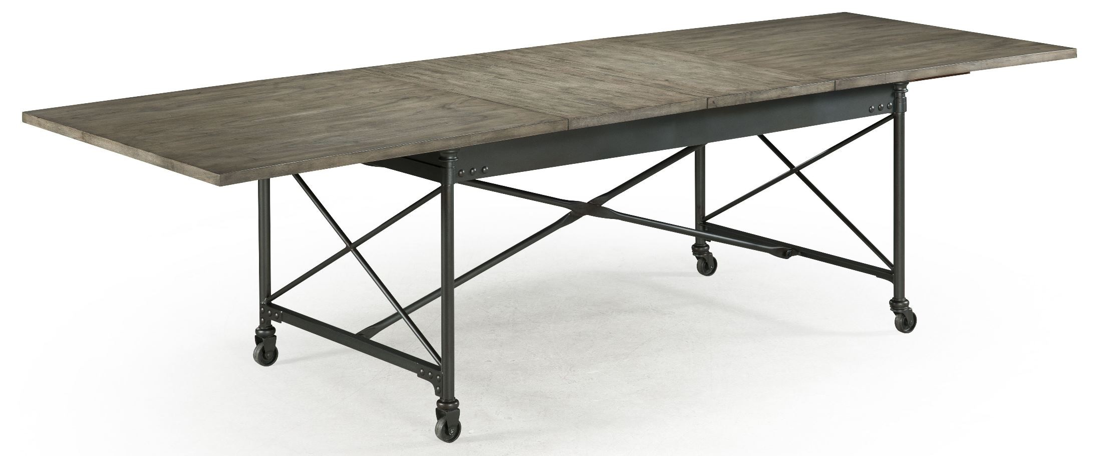 Walton rectangular dining table with casters from magnussen home d2469 20 coleman furniture - Rectangular dining table for 6 ...