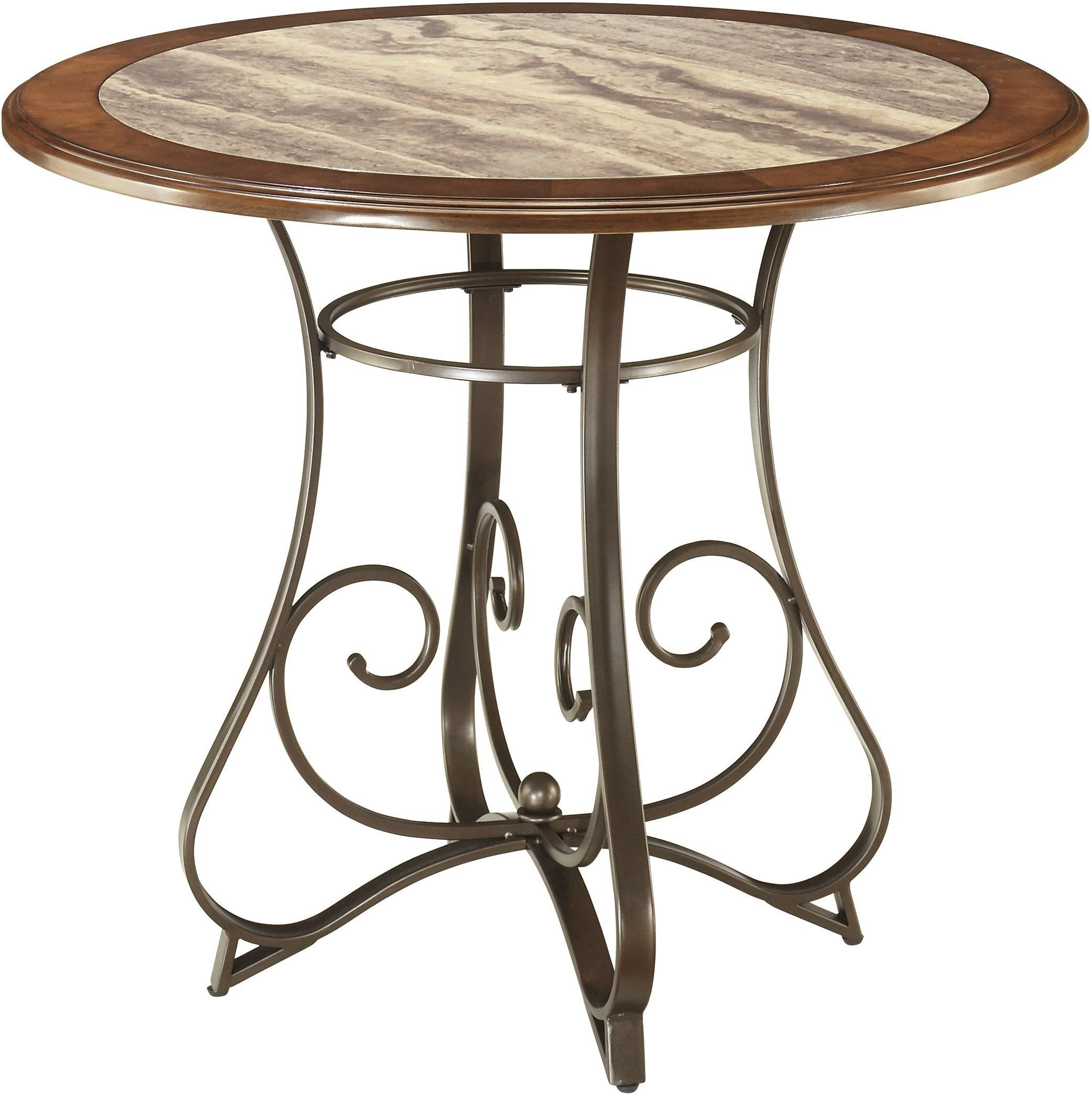 Counter Height Dining Tables: Hopstand Round Counter Height Dining Table From Ashley