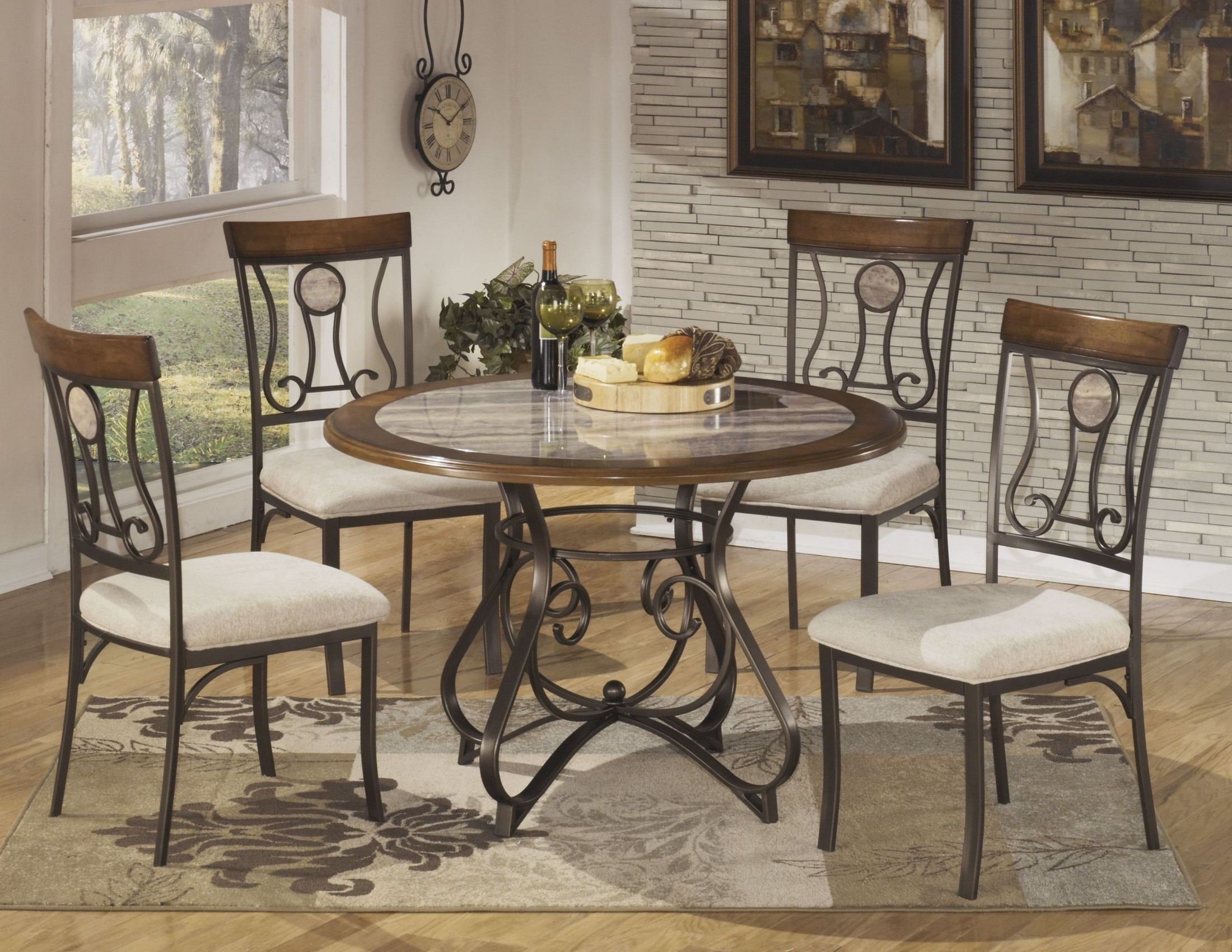 hopstand round dining room set from ashley coleman furniture
