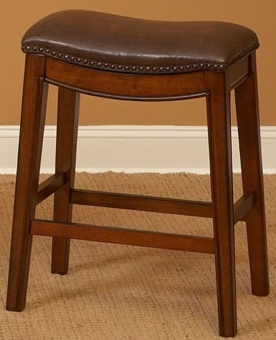 """Fiesta Light Brown 24"""" Backless Counter Stool from Largo ..."""