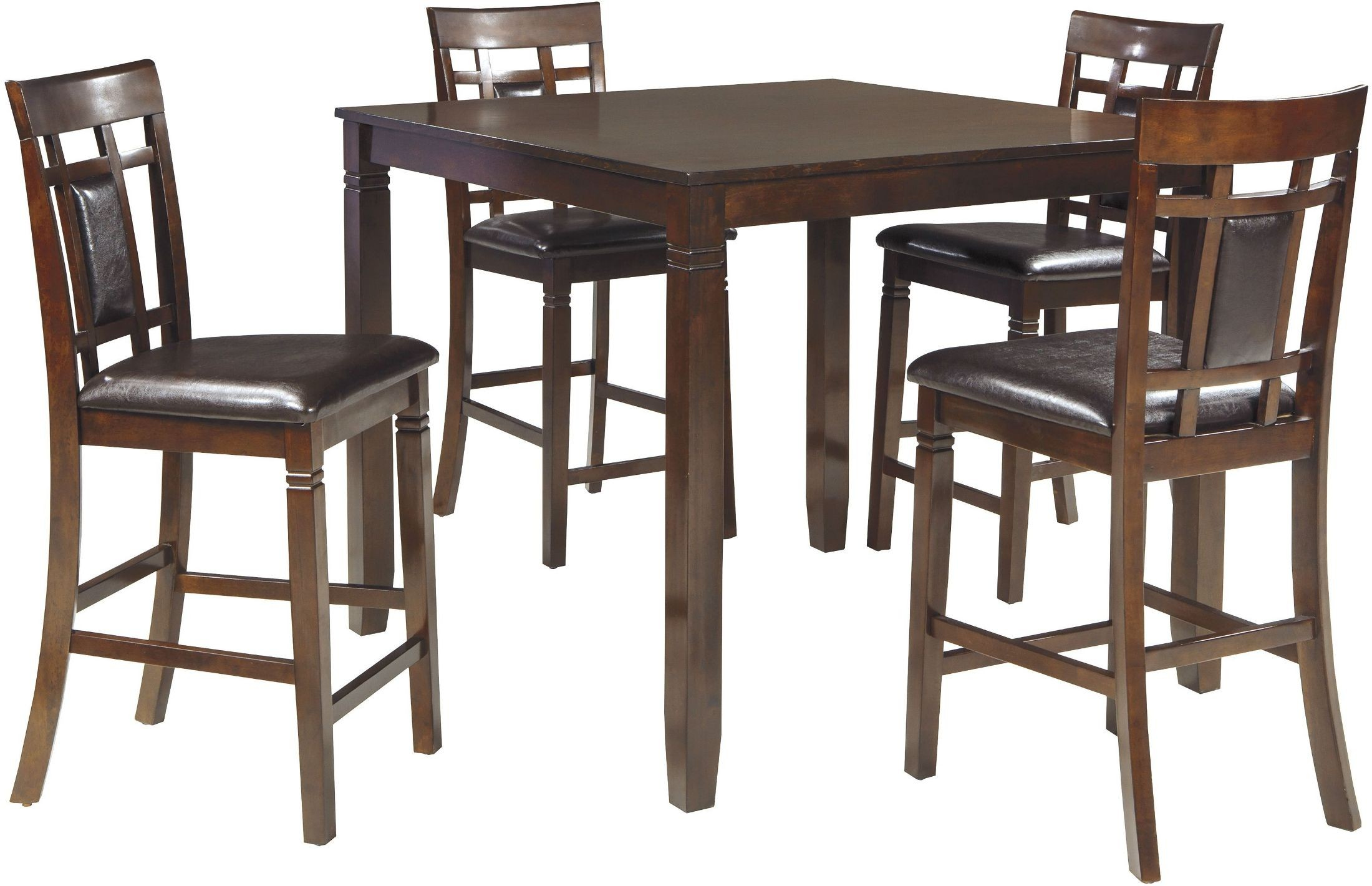 Bennox Brown 5 Piece Counter Height Dining Room Set from Ashley ...