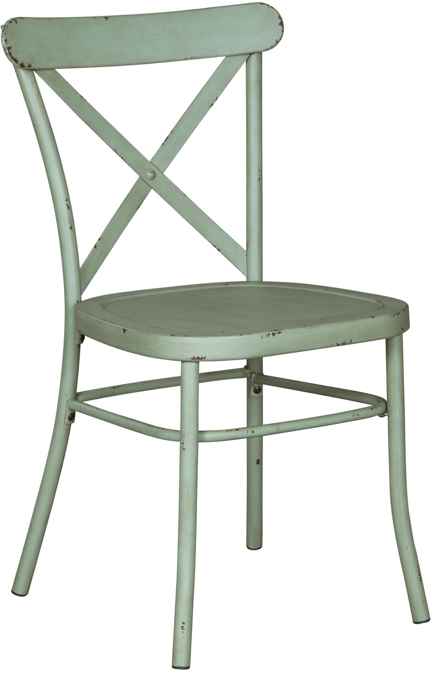 Minnona Light Green Side Chair Set of 2 from Ashley