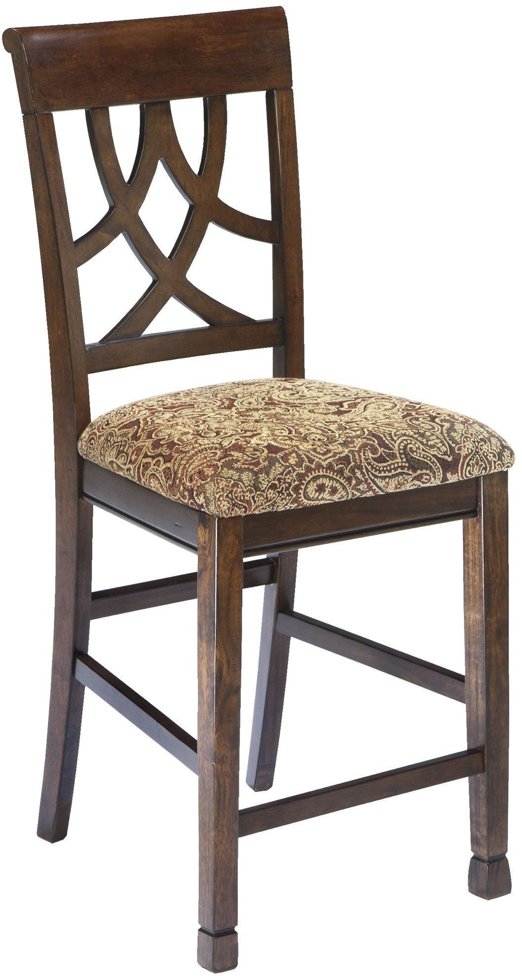 Leahlyn Upholstered Counter Stool Set Of 2 From Ashley D436 124 Coleman Furniture