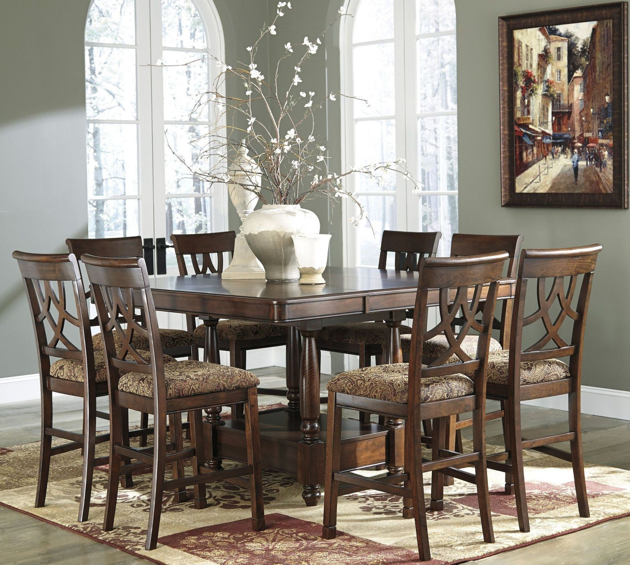 Leahlyn Dining Room Extandable Counter Table From Ashley