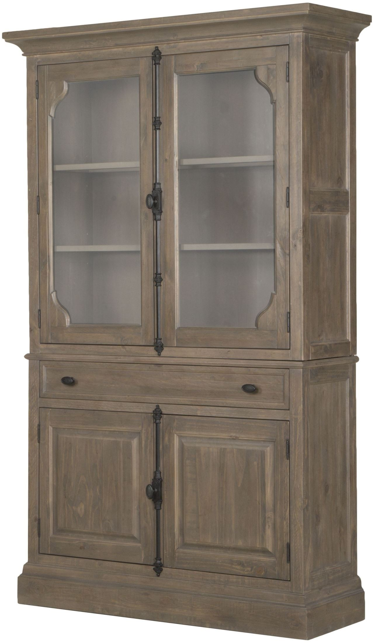 Trinity Driftwood Curio China Cabinet From Magnussen Home | Coleman  Furniture