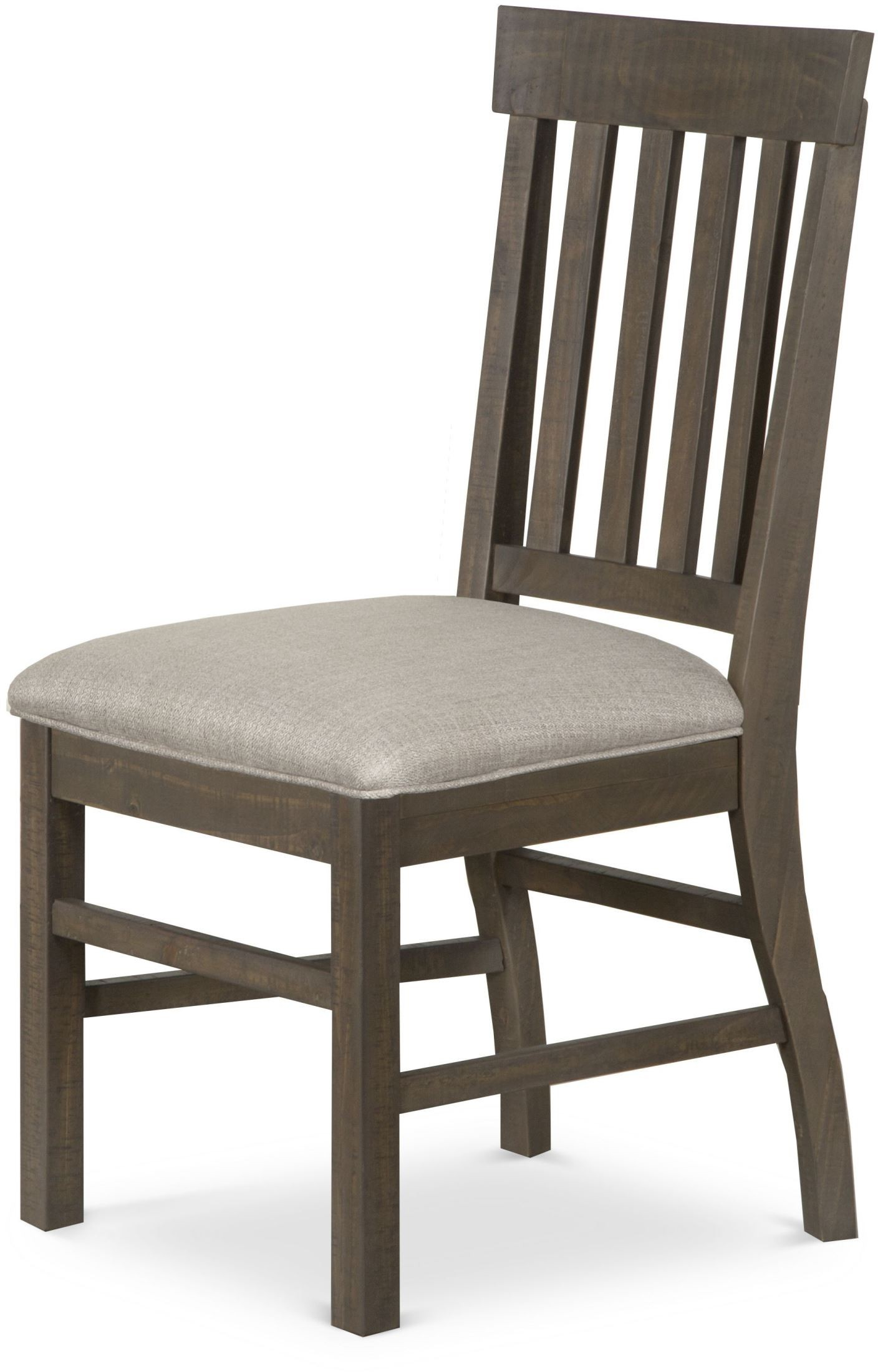 Trinity driftwood dining side chair set of 2 from 2 seat dining set