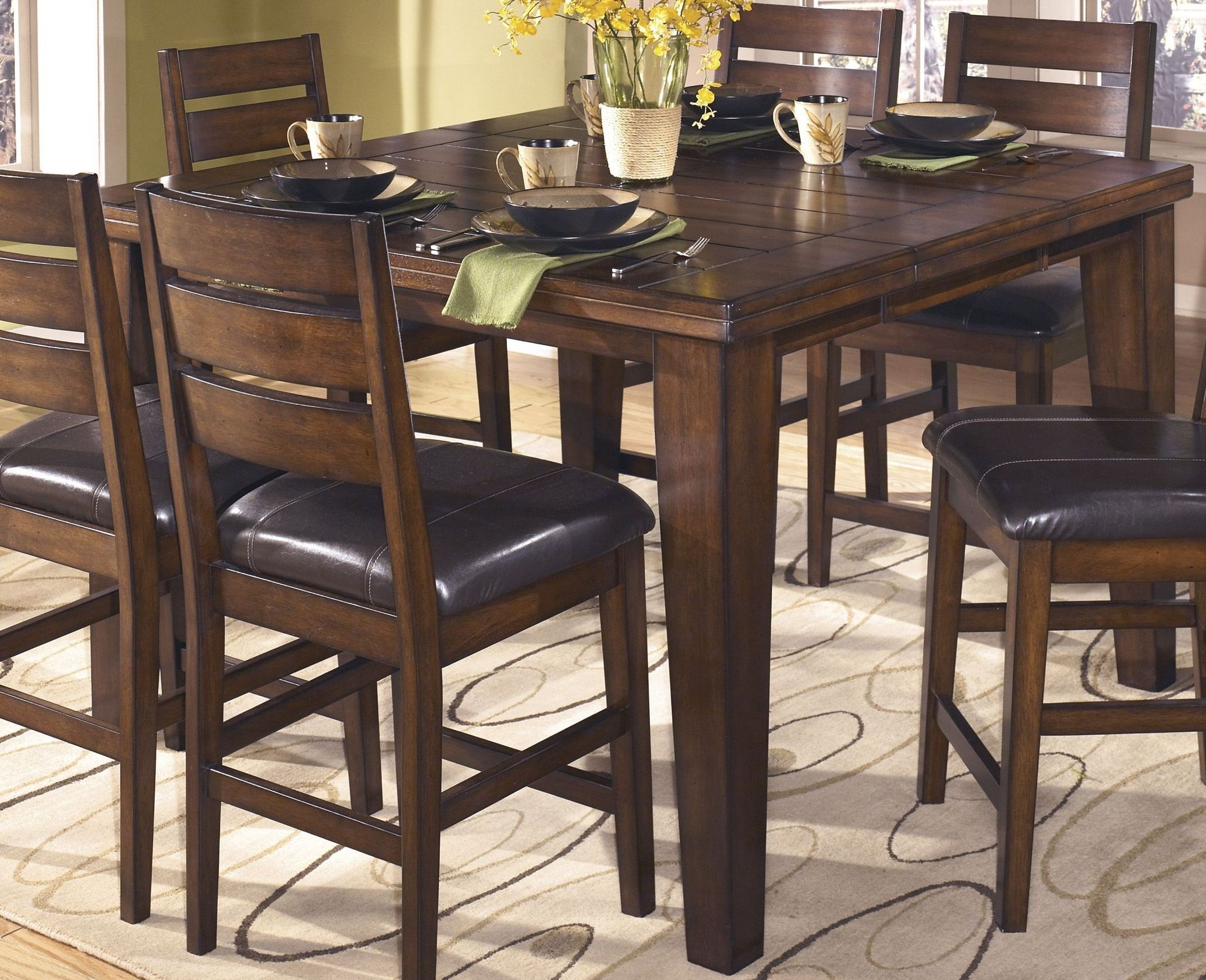 Larchmont Pub Table Set From Ashley Coleman Furniture