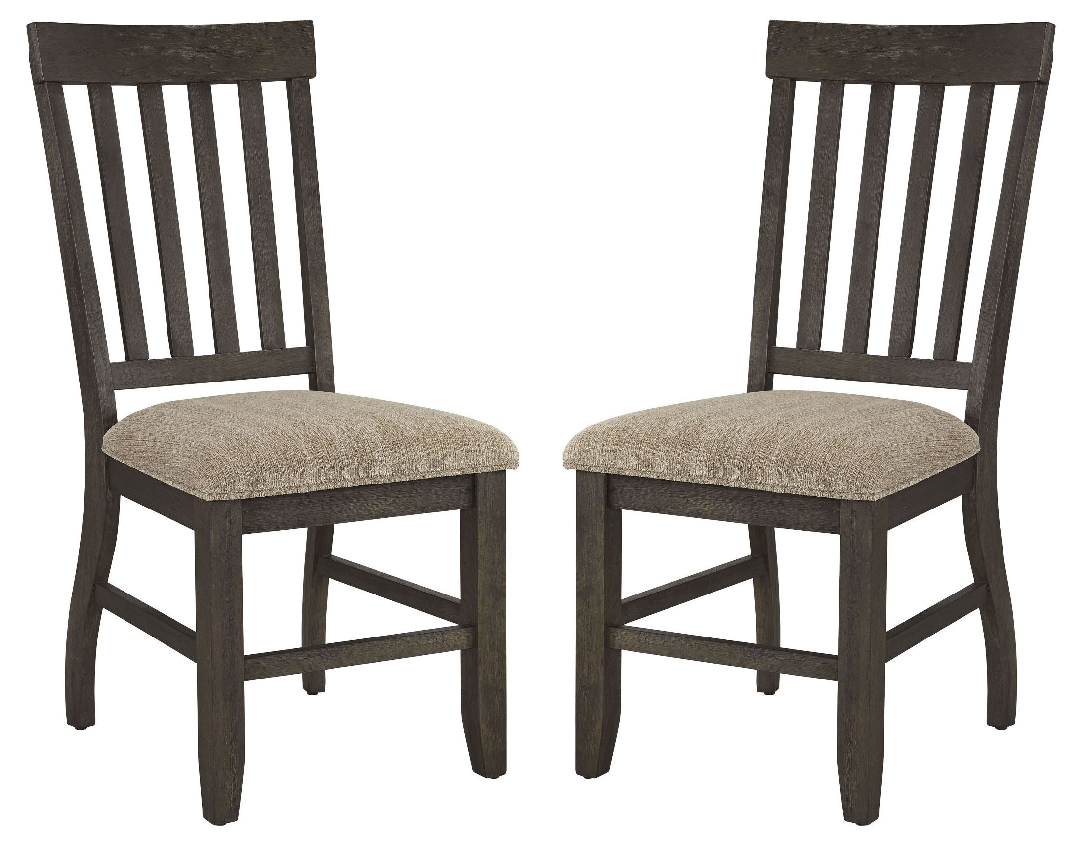 Dresbar cream dining upholstered side chair set of from