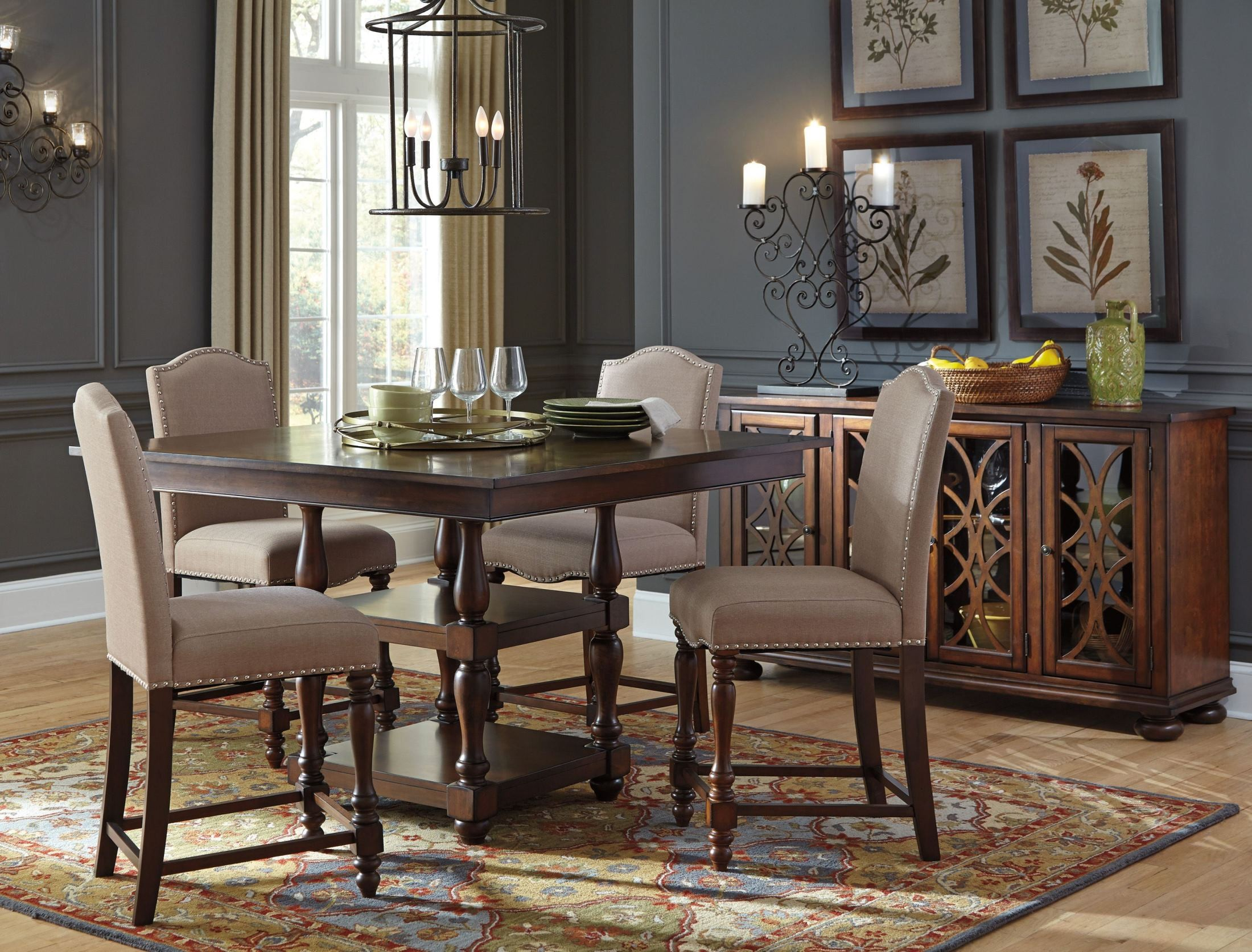 Baxenburg Brown Dining Server from Ashley | Coleman Furniture