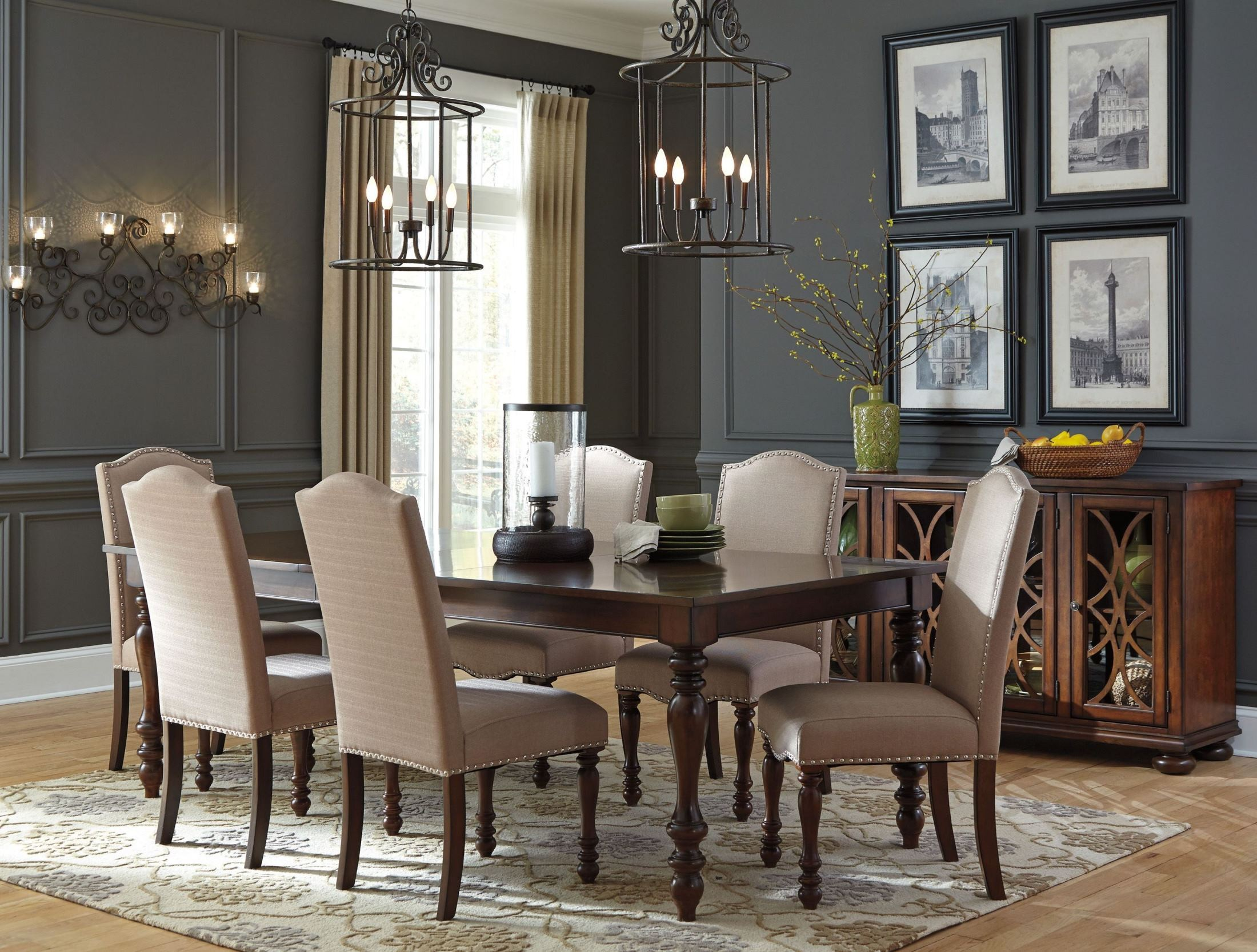 Baxenburg Brown Dining Server From Ashley Coleman Furniture