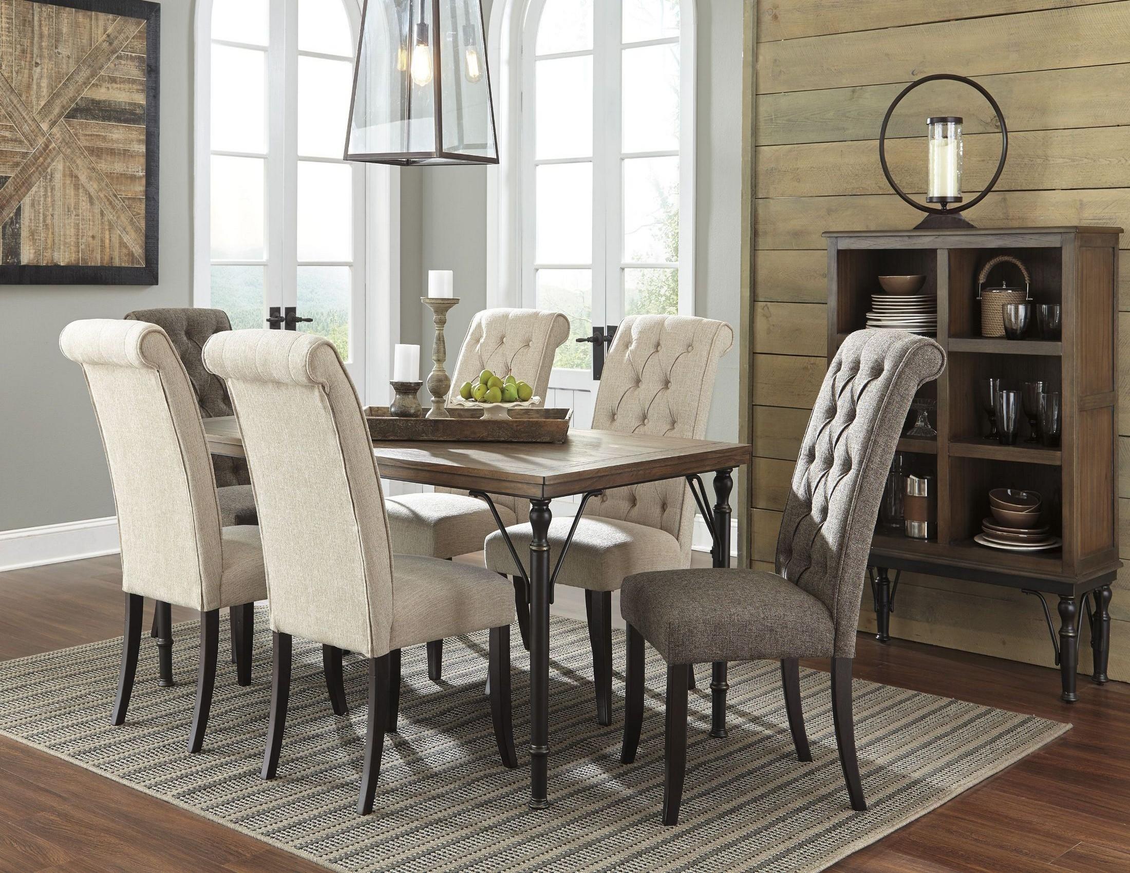 tripton rectangular dining room set from ashley