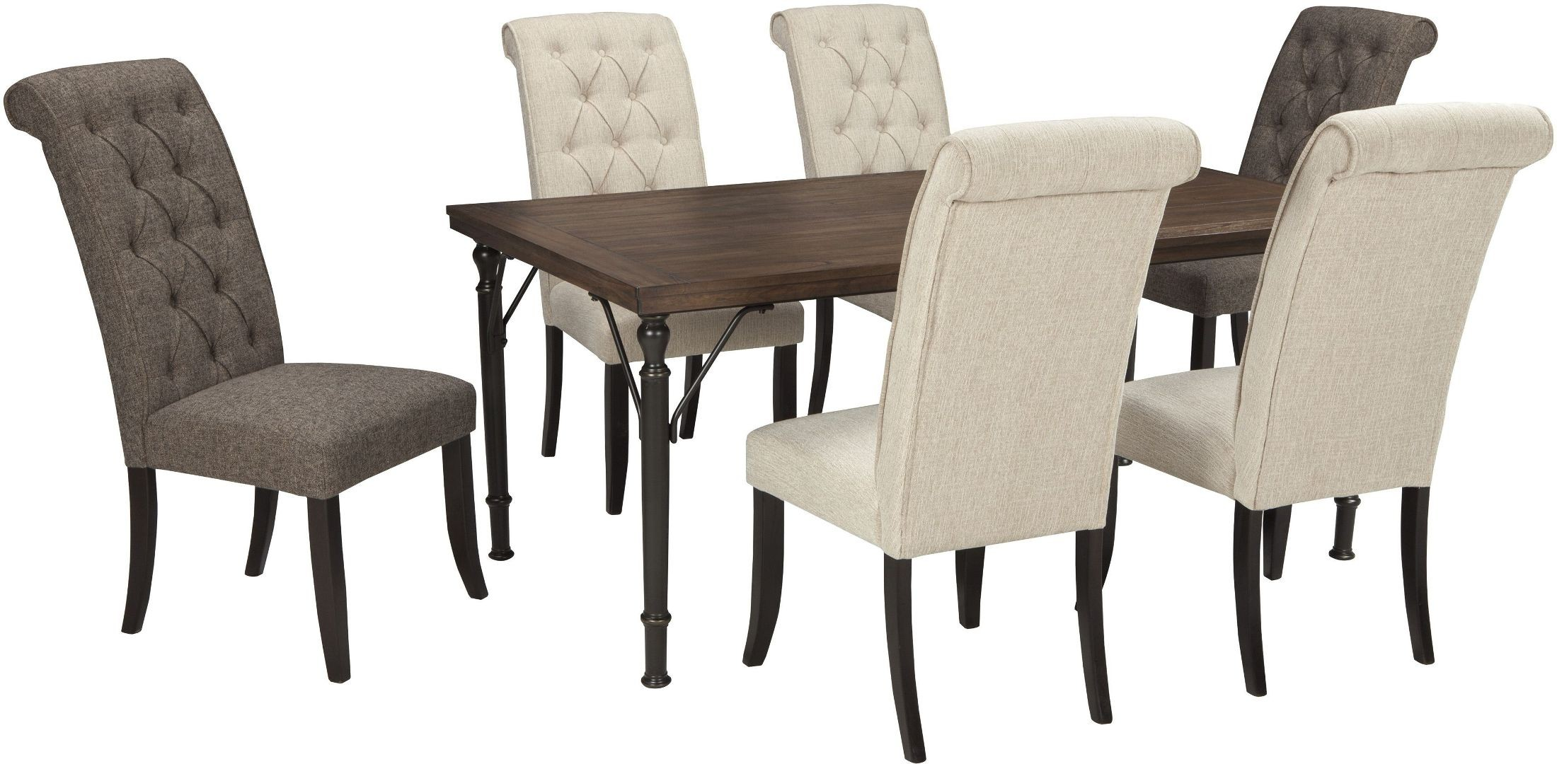 tripton dining uph side chair set of 2 d530 01 tripton dining upholstered side chair set of 2 from 362
