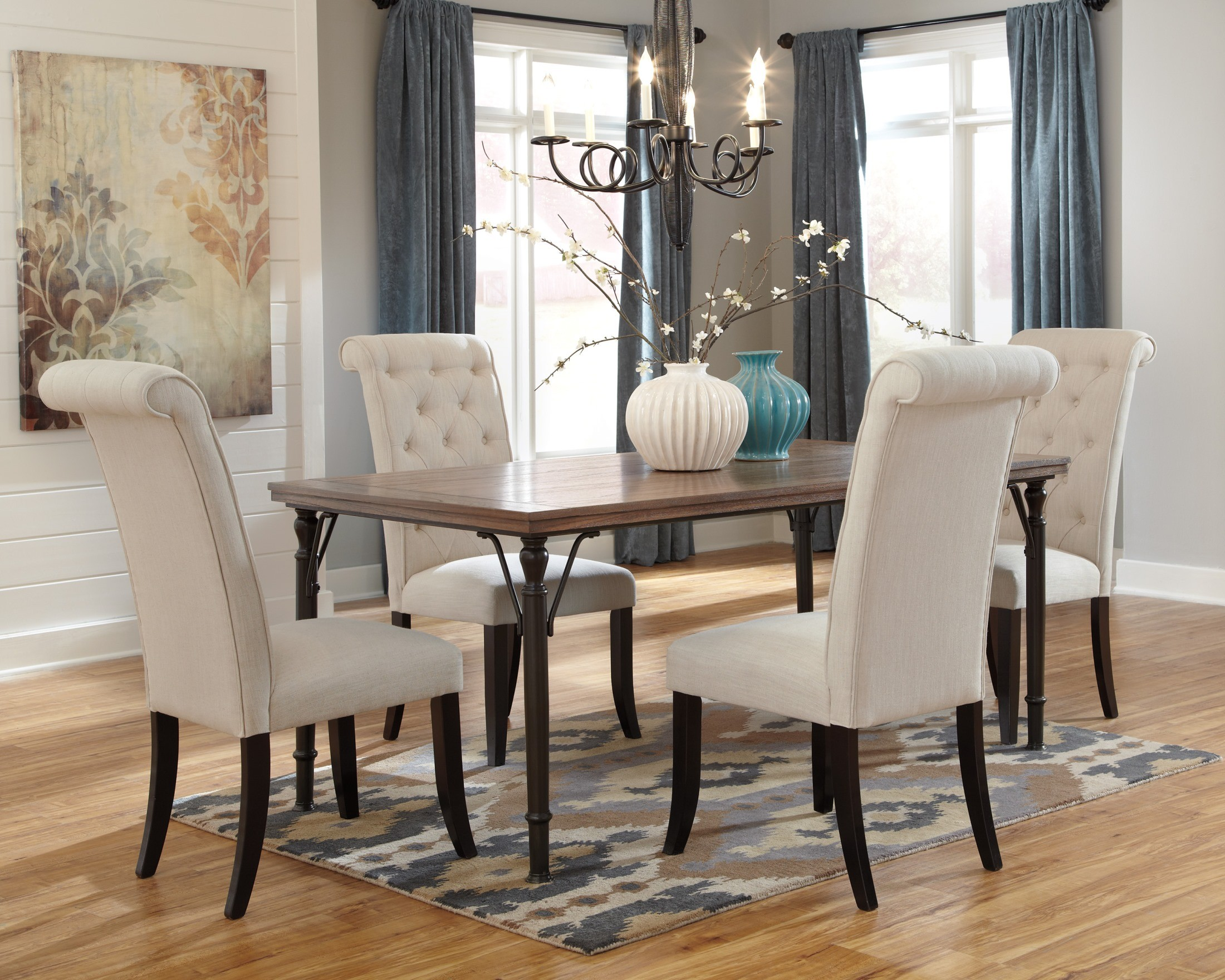 Tripton Rectangular Dining Room Set from Ashley (D530-25 ...