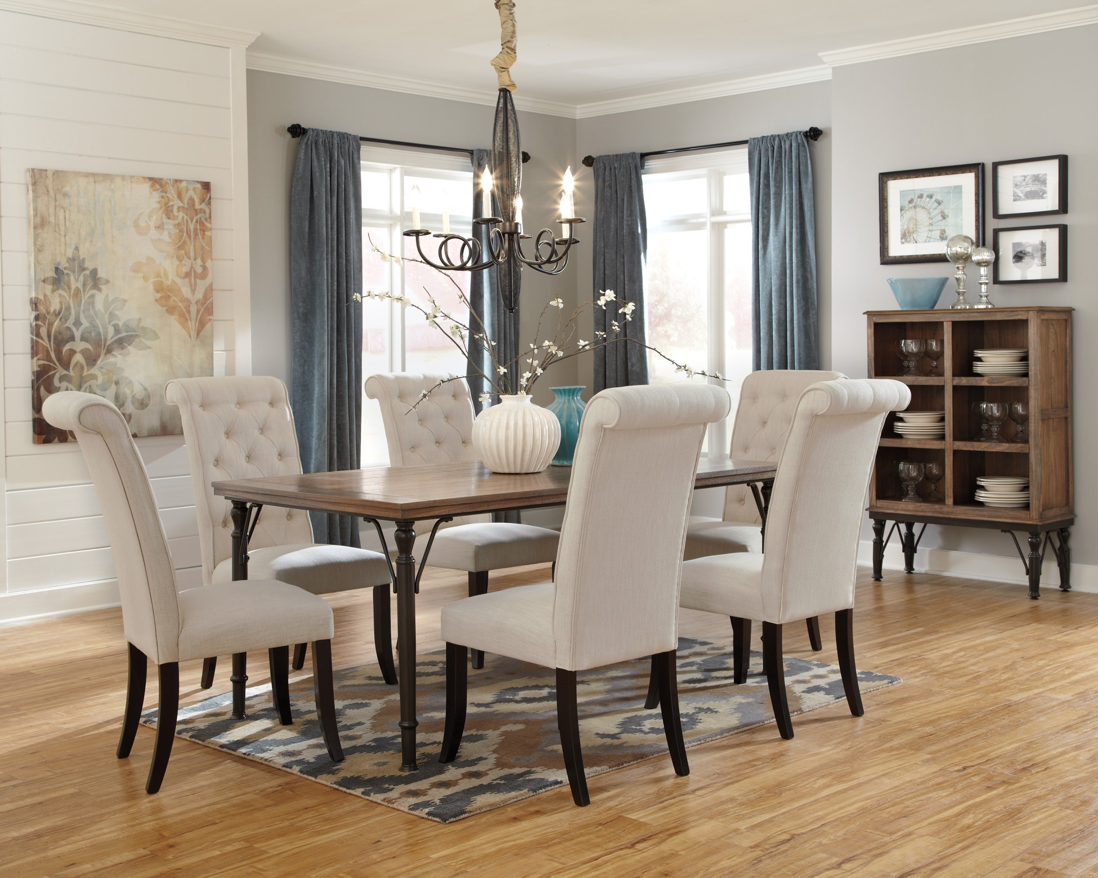Tripton Dining Upholstered Side Chair Set of 2 from Ashley (D530 ...
