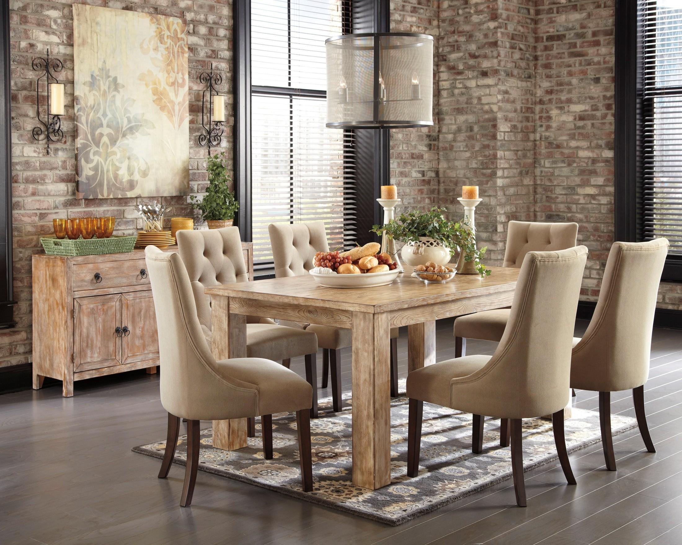 Mestler Driftwood Dining Room Set From Ashley D540 225