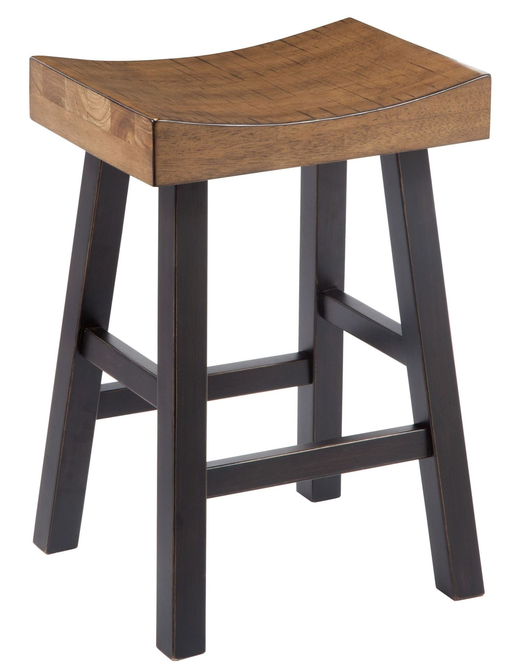 Glosco Two Tone Backless Stool Set Of 2 From Ashley D548