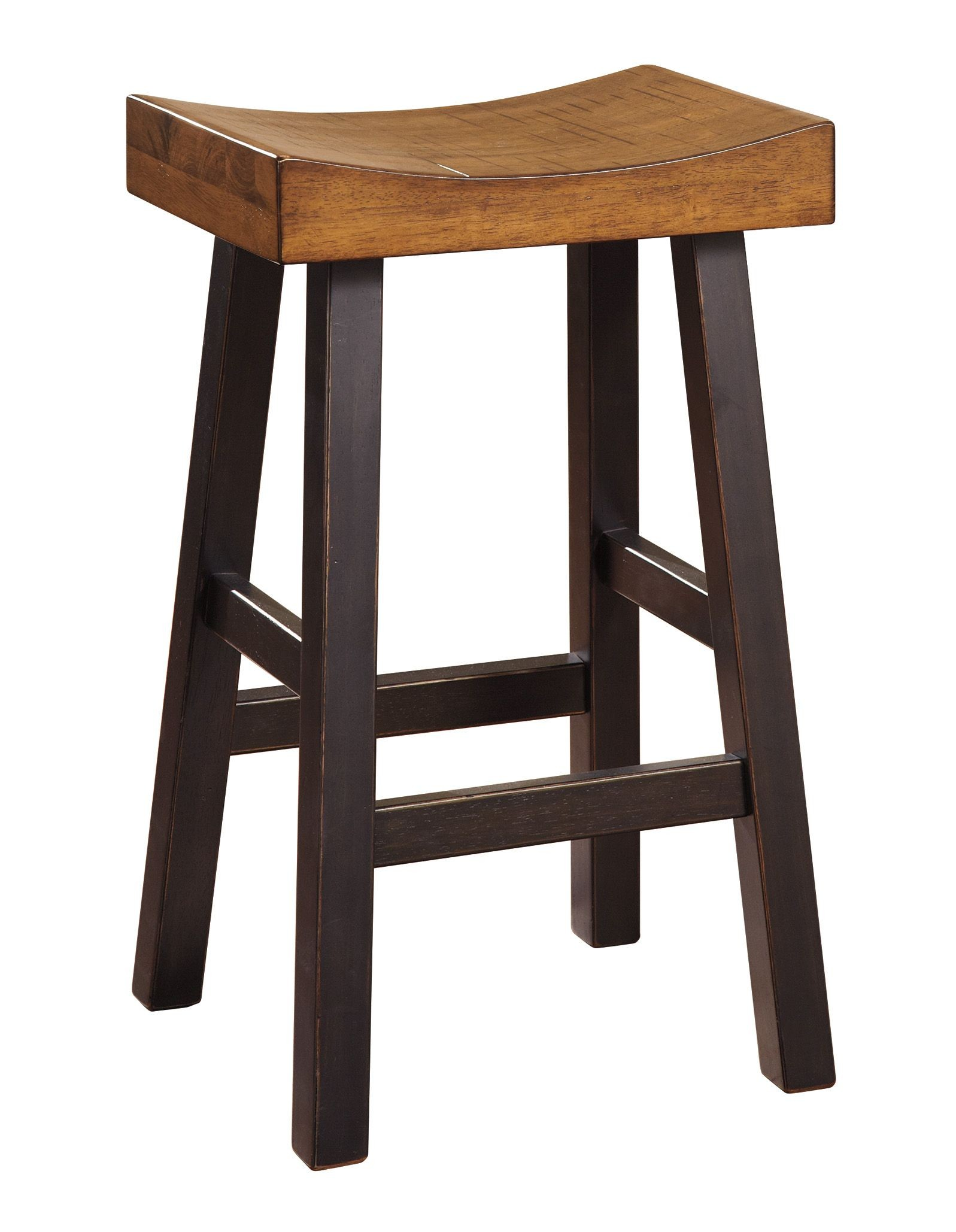 Glosco Two Tone Tall Stool Set Of 2 From Ashley D548 030