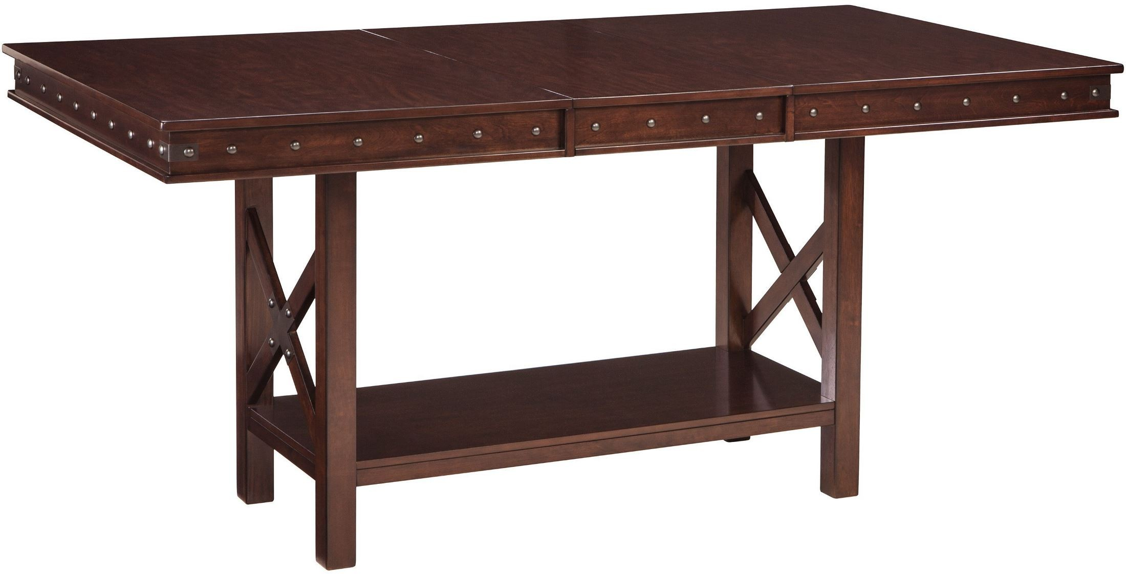 Counter Height Dining Tables: Collenburg Brown Extendable Counter Height Dining Table