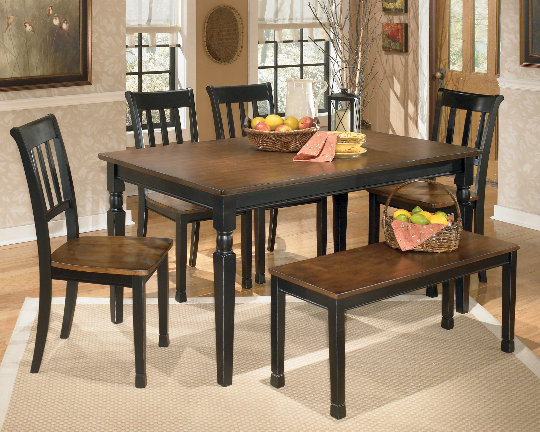 Owingsville rectangular dining room table from ashley for Front room furniture sale