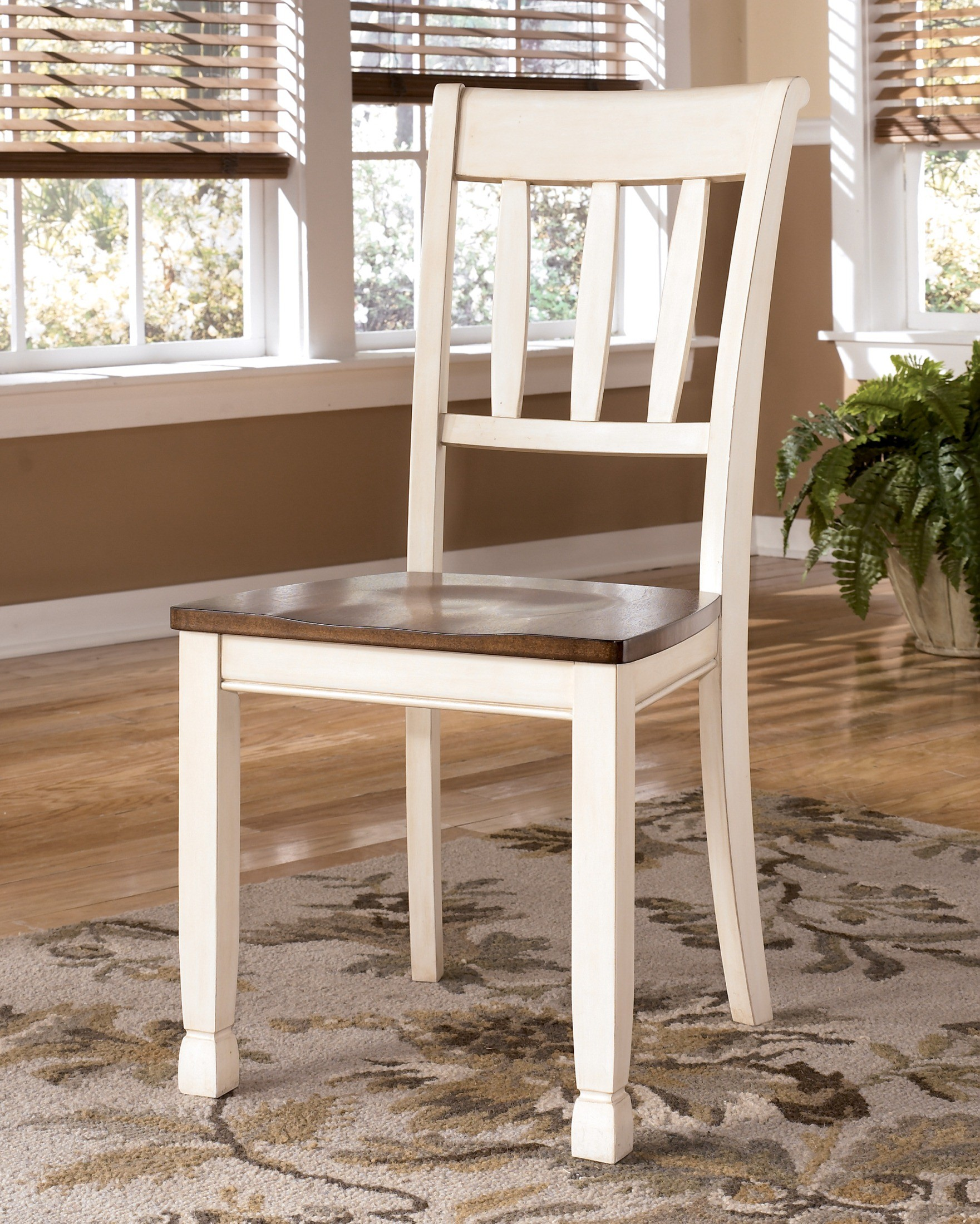 Whitesburg Slat Back Side Chair Set of 2 from Ashley (D583 ...
