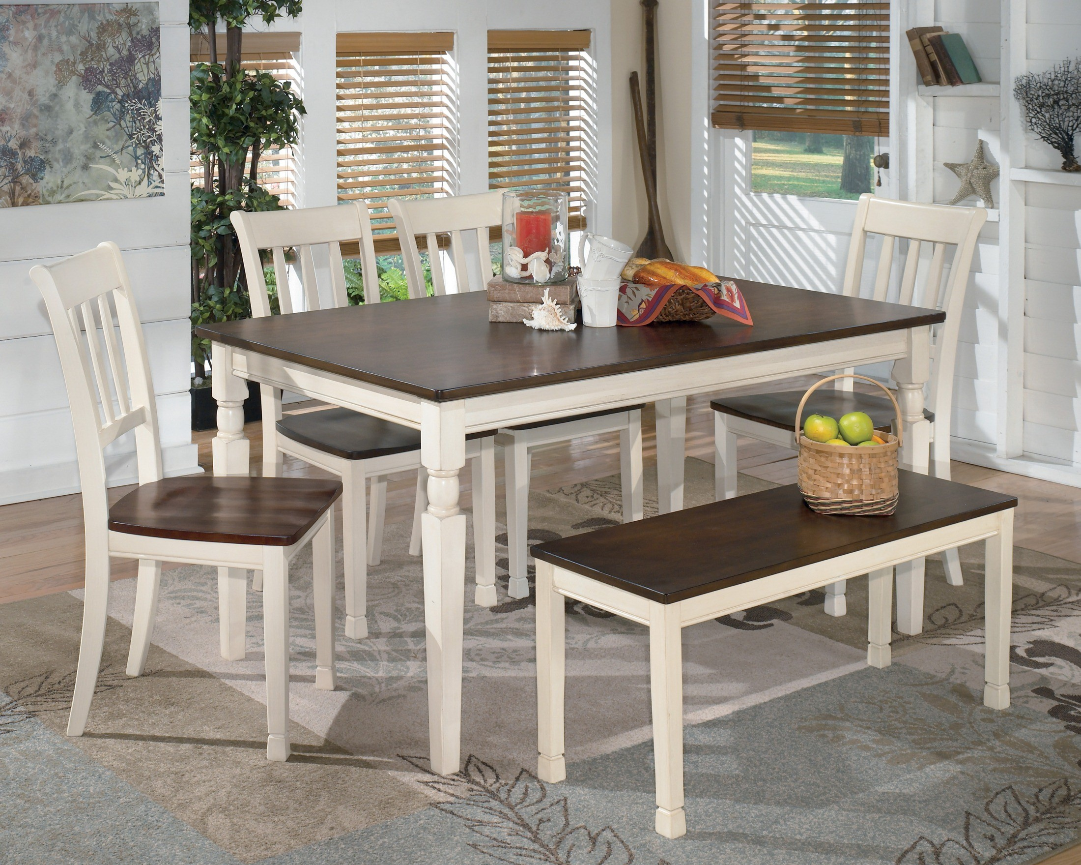 Whitesburg Rectangular Dining Table From Ashley (D583-25