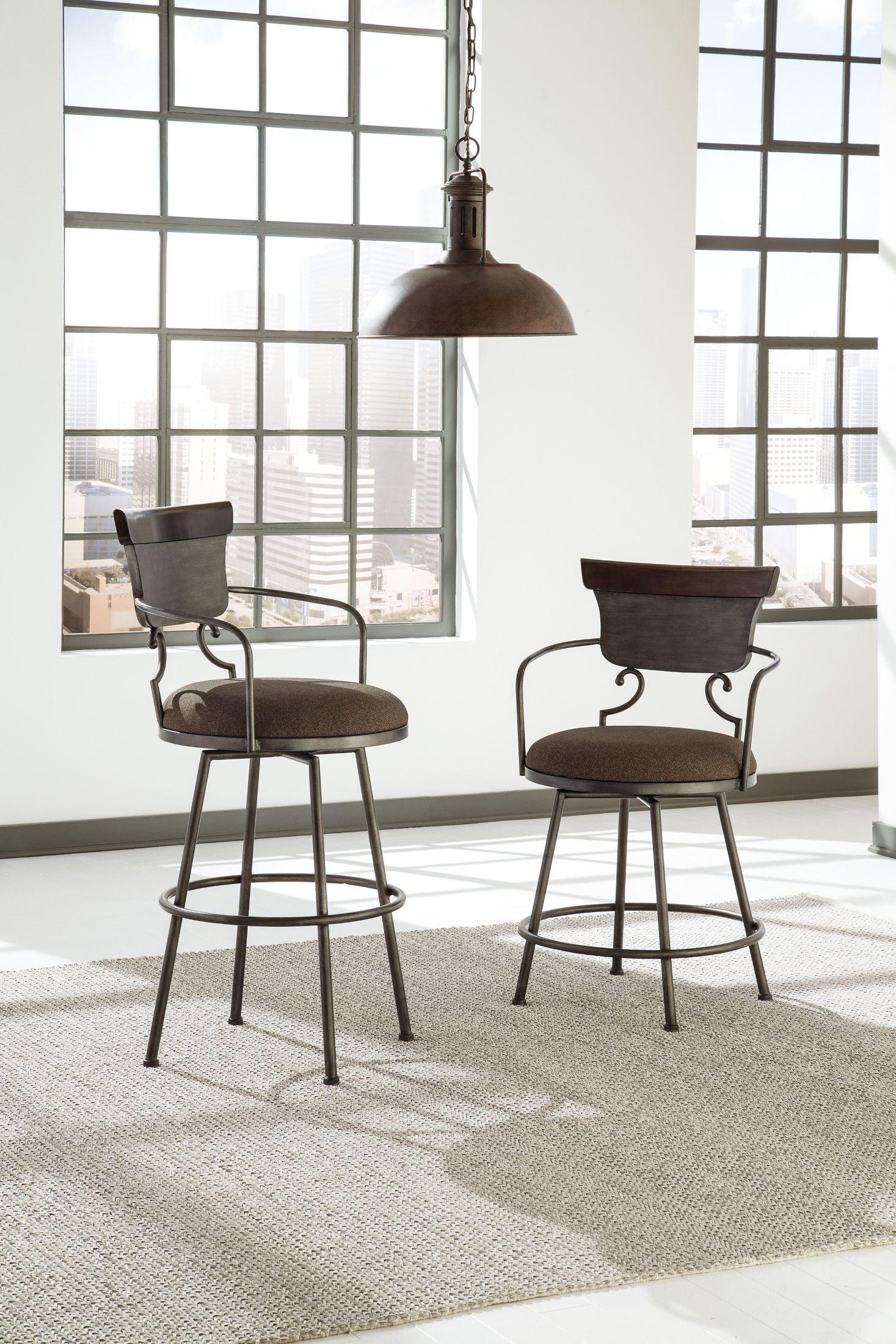 Moriann Tall Upholstered Barstool From Ashley D608 630