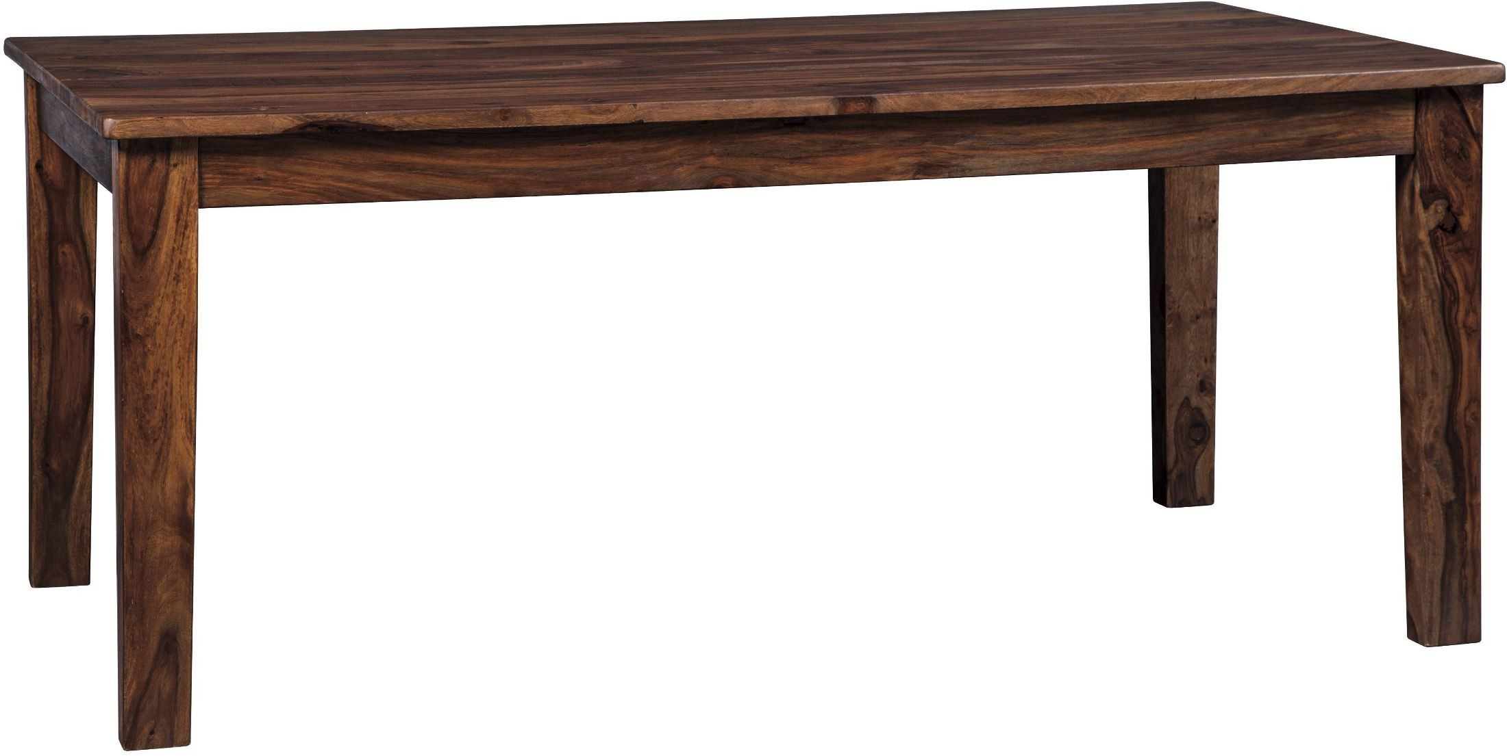 Manishore brown rectangular dining room table from ashley coleman furniture - Rectangular dining table for 6 ...