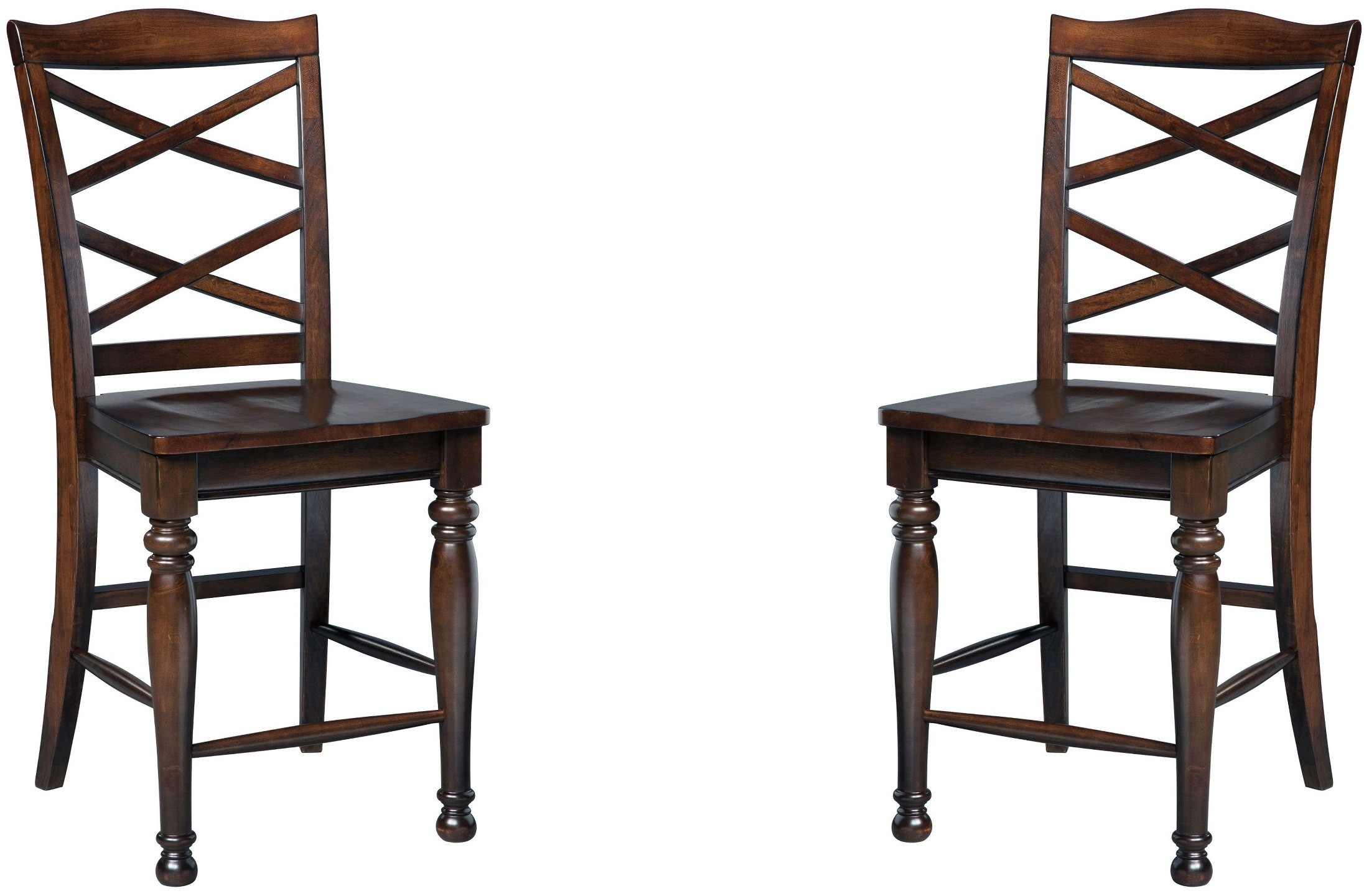 Porter Counter Stool Set Of 2 From Ashley D697 124