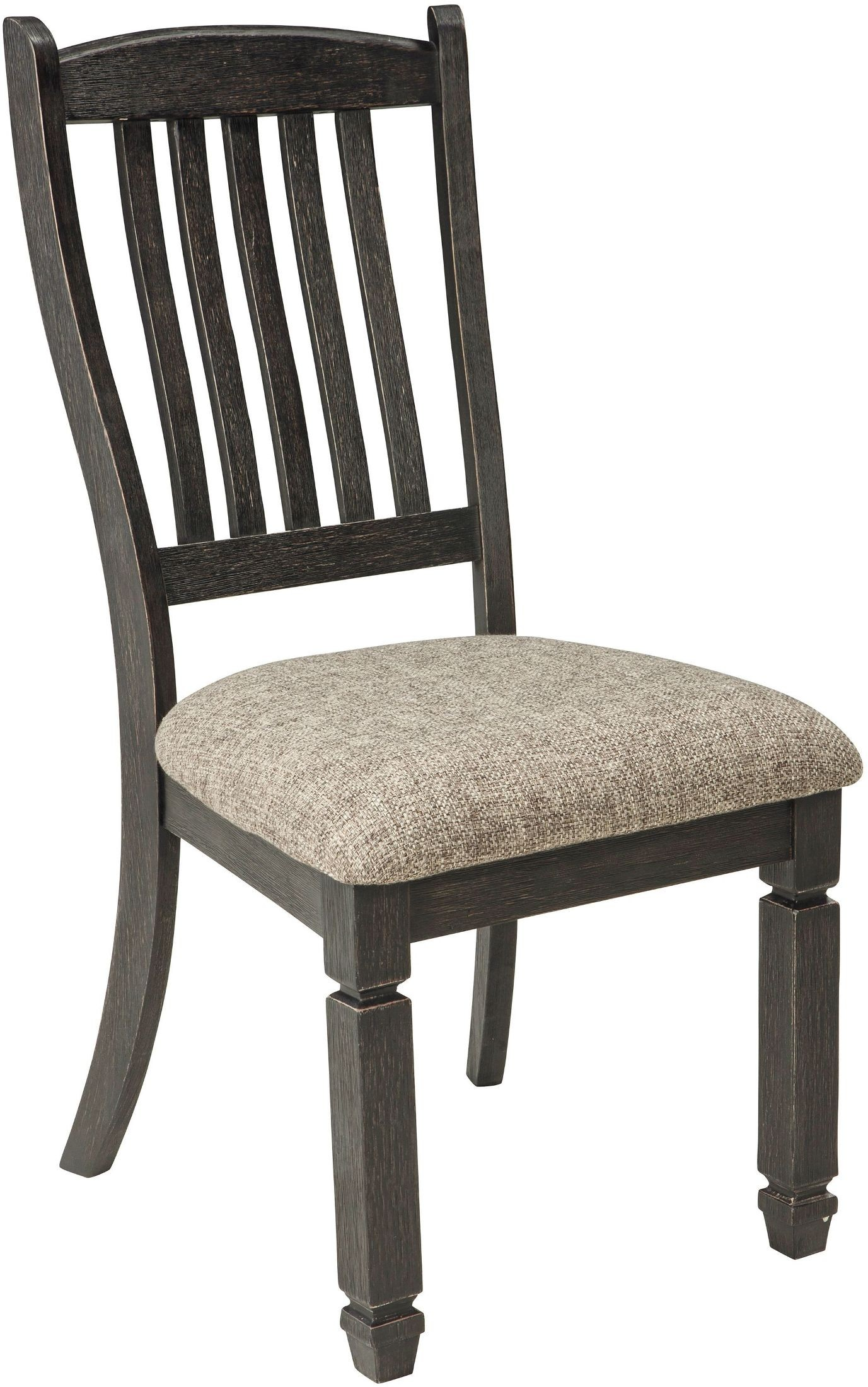 Tyler Creek Black And Gray Upholstered Side Chair Set Of 2