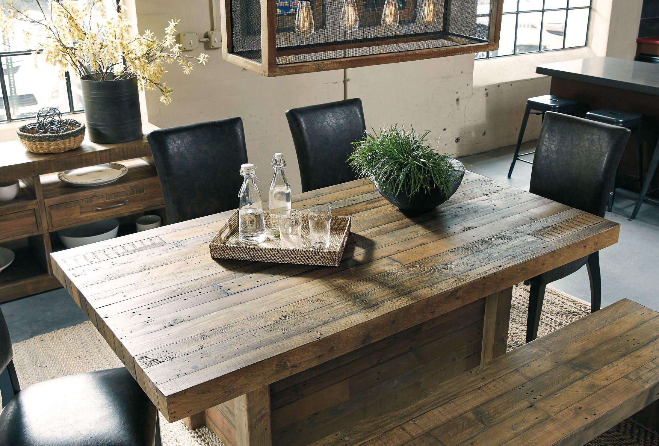 Sommerford Brown Rectangular Dining Room Set From Ashley