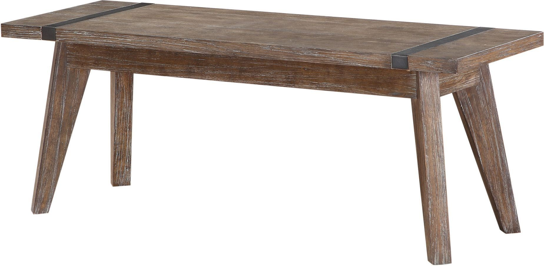 Viewpoint Driftwood Bench From Emerald Home Coleman Furniture
