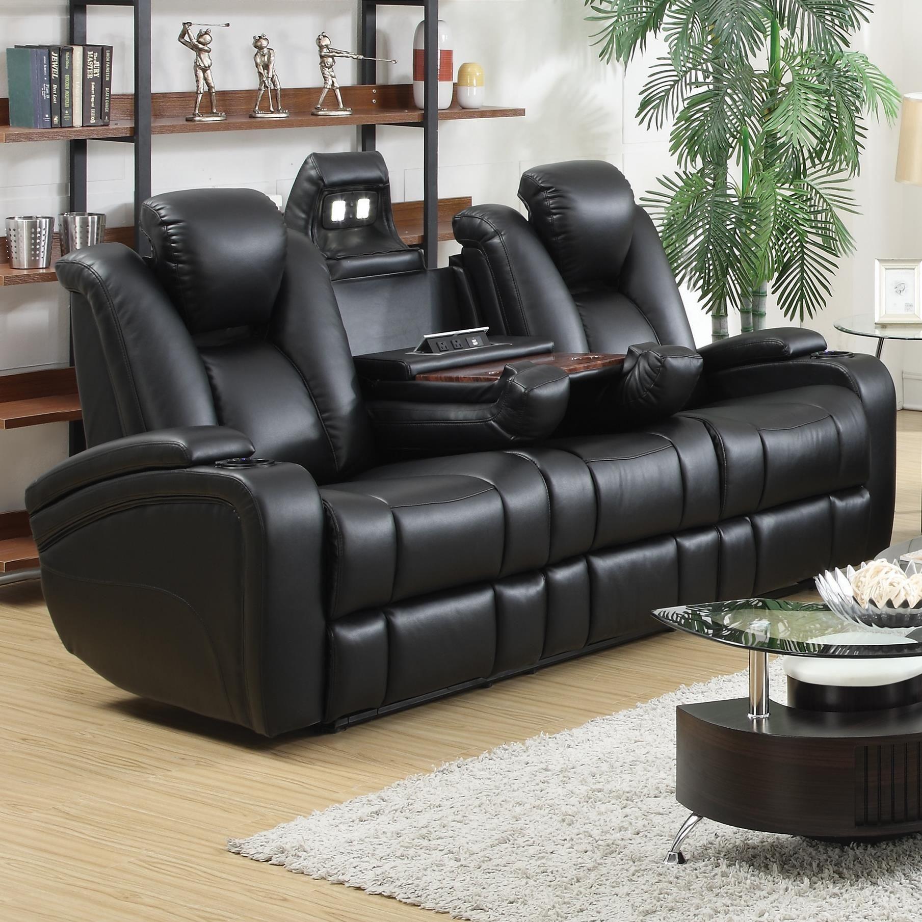 Coaster Furniture. Delange Power Reclining Living Room Set1930384. 1667167.  796184. 606412 Part 56