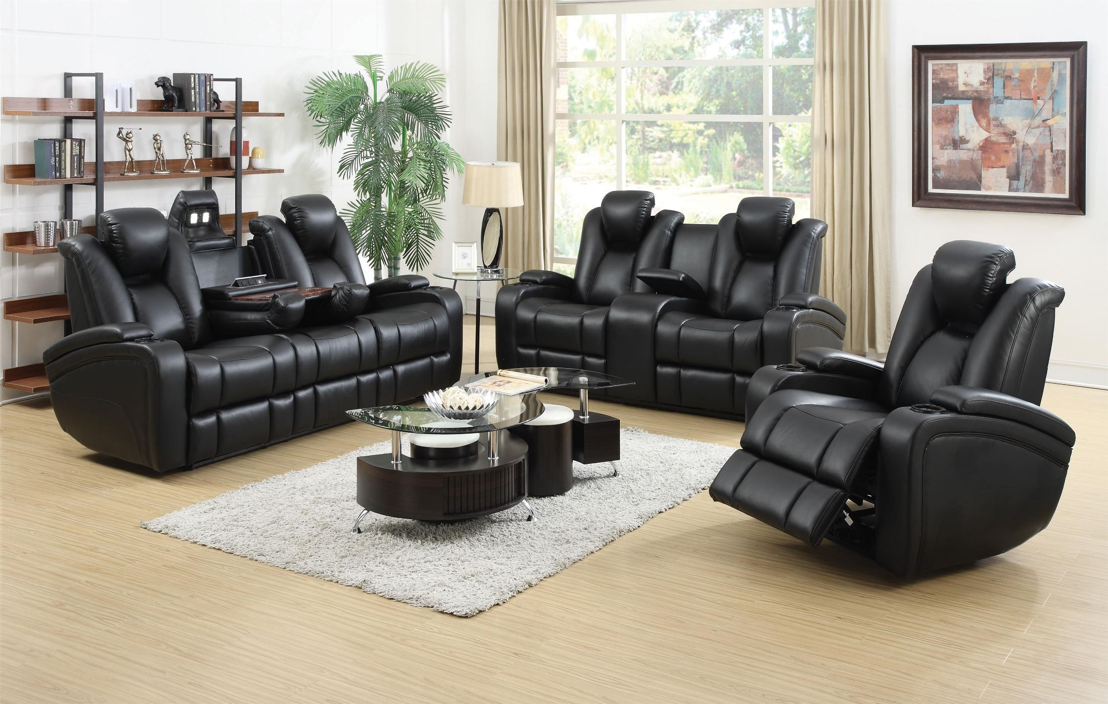 Delange Power Reclining Sofa from Coaster P