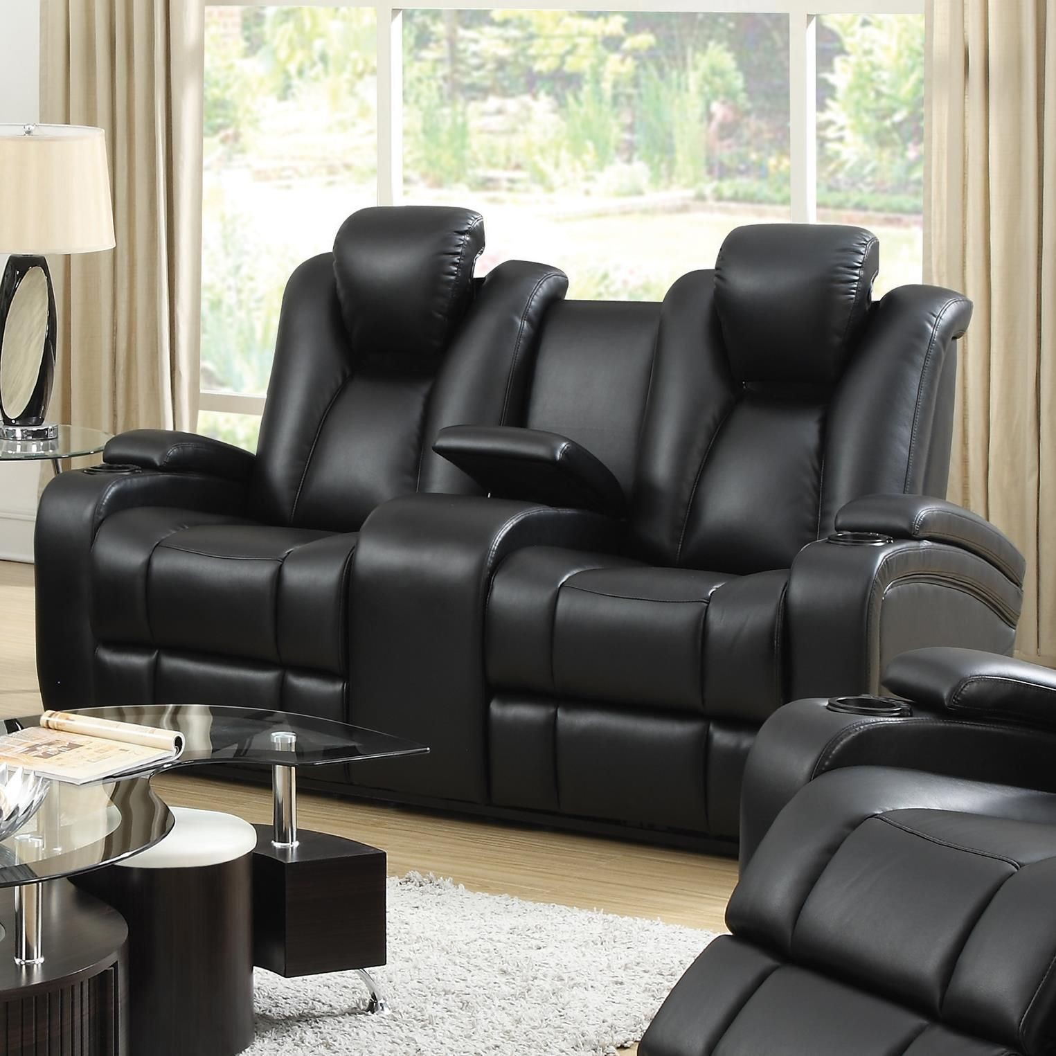 Delange Power Reclining Living Room Set From Coaster