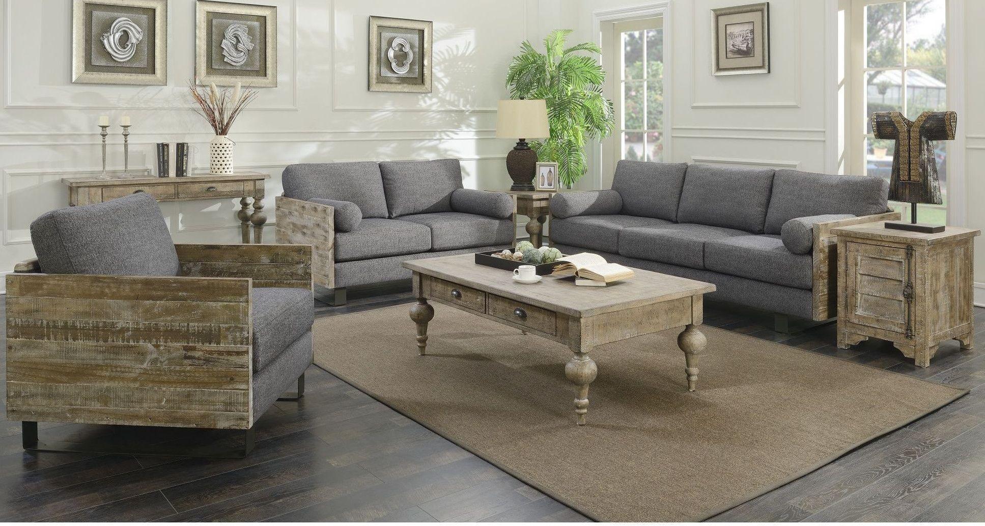 Interlude Charcoal Blue Living Room Set U5600 00 03 U5600 01 03 Emerald Home Furnishings