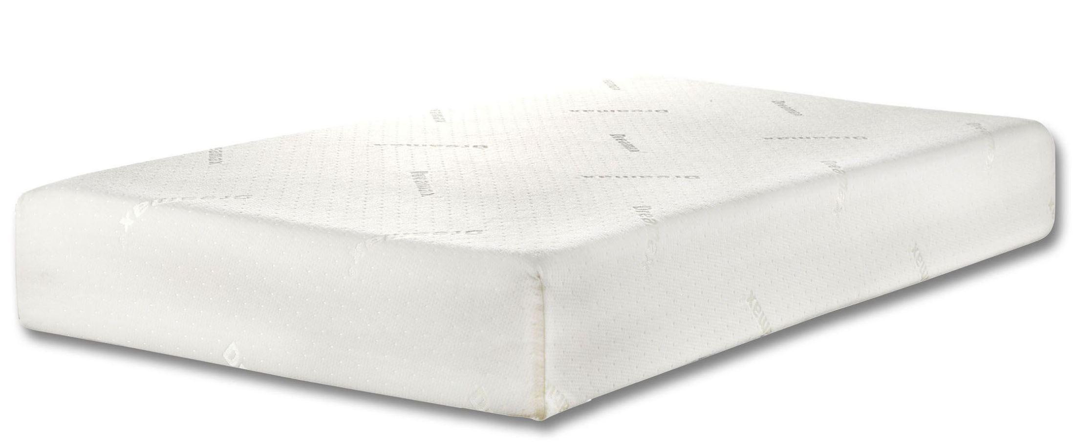 Camellia 10 king memory foam mattress from furniture of for Furniture of america mattress