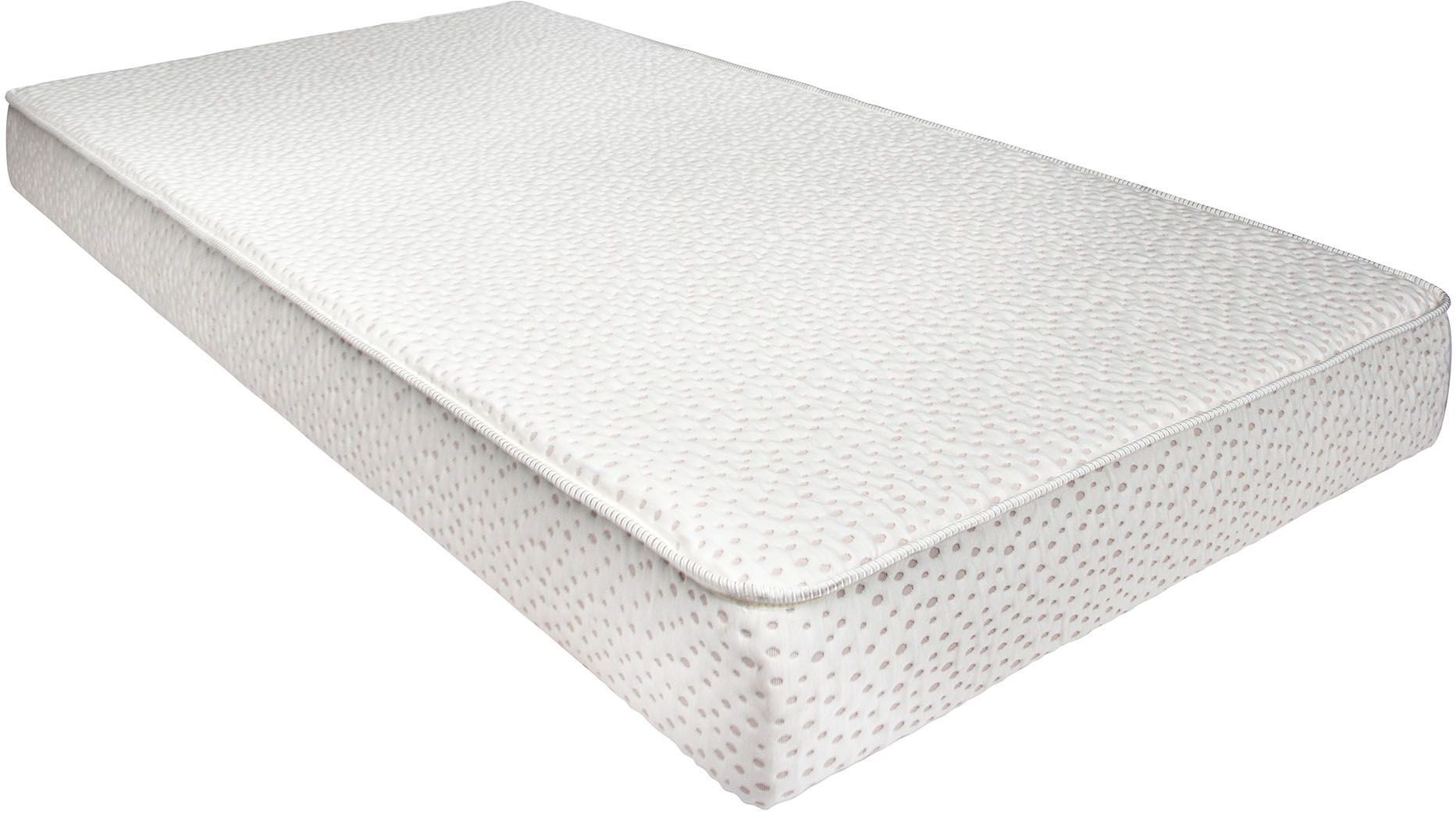 Fennel 7 memory foam twin mattress from furniture of america coleman furniture Double mattress memory foam