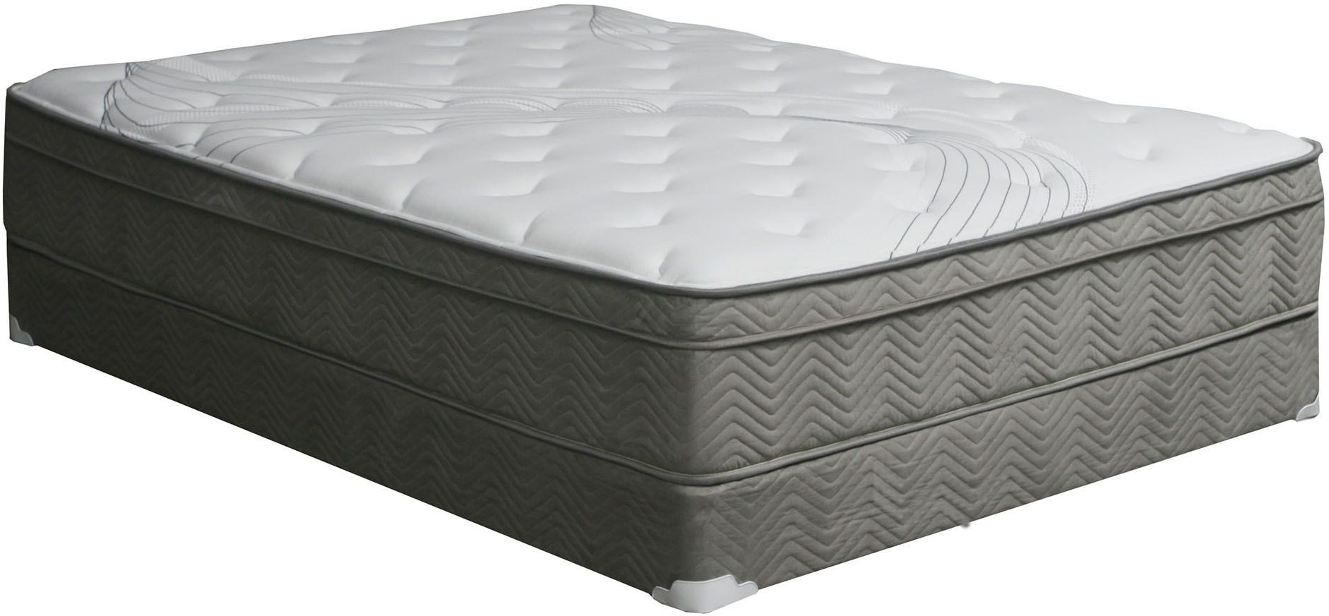 Afton 12 euro box pocket coil full mattress from for Mattress furniture