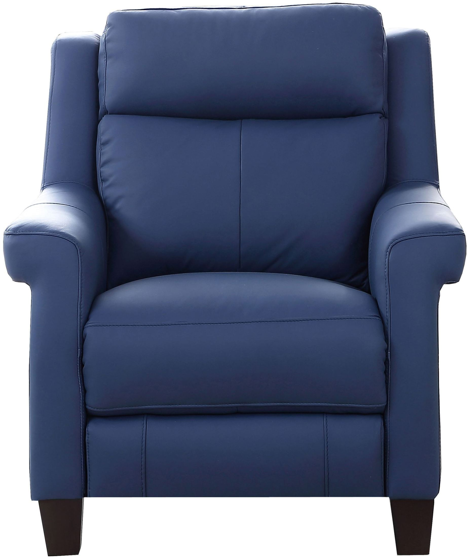 Dolce Blue Power Recliner With Power Headrest From Amax
