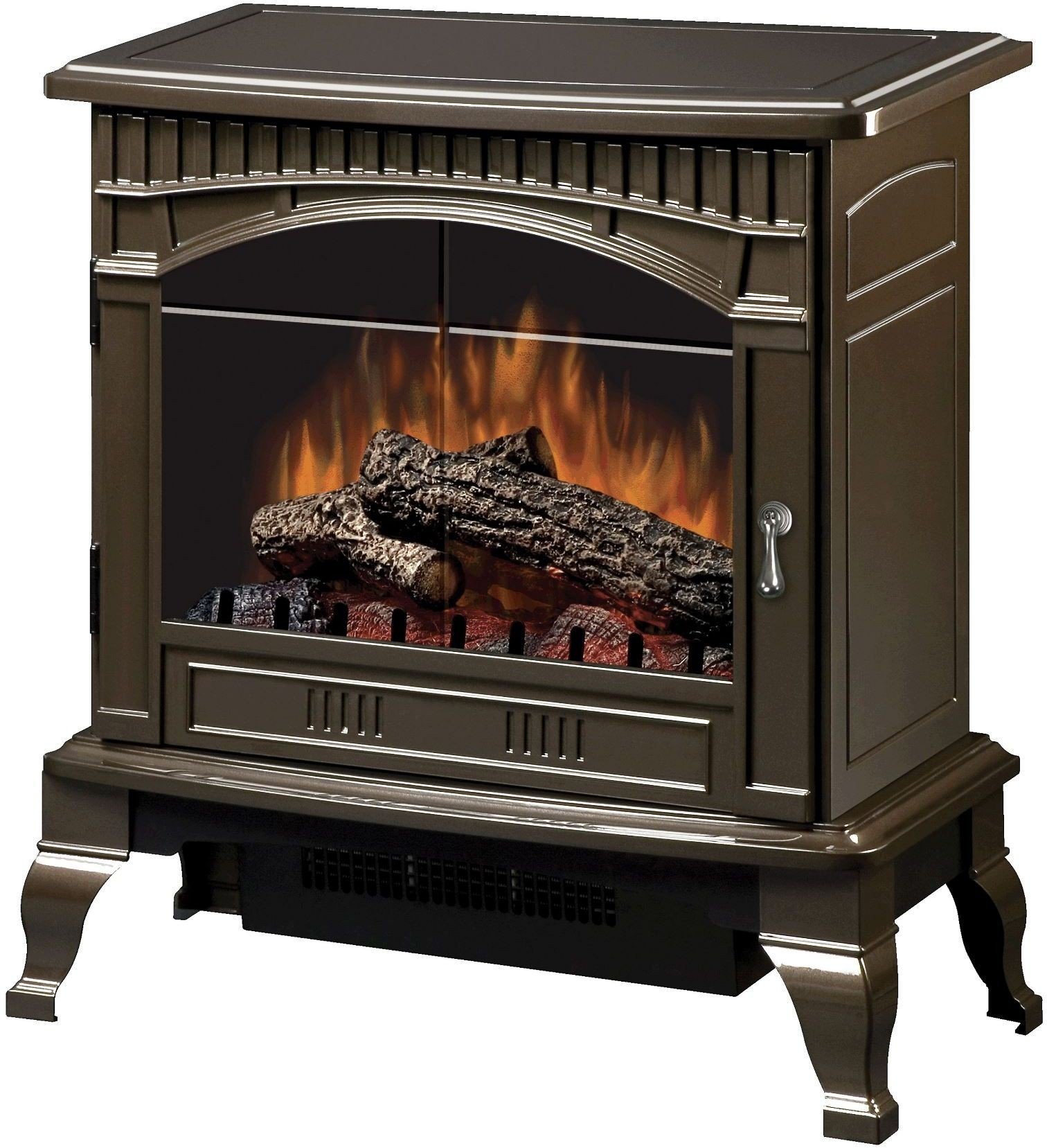 Gross Bronze Electric Stove From Dimplex Coleman Furniture