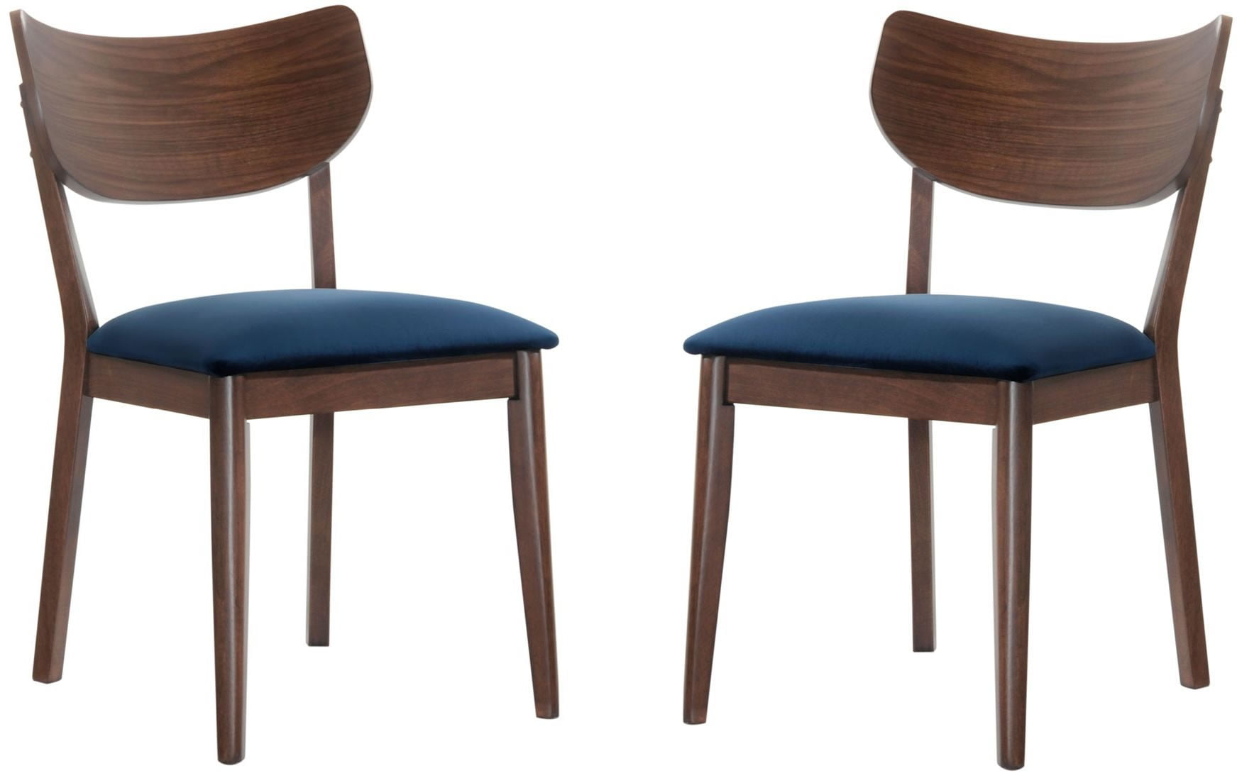 Rosie Navy Blue Side Chair Set Of 2 From Elements Furniture