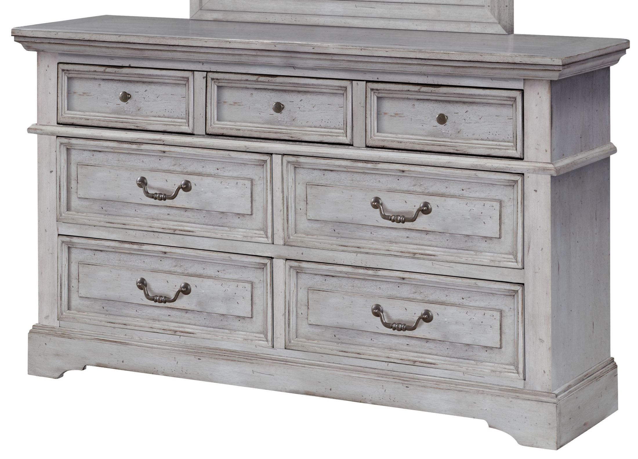 Stonebrook Antique Gray Dresser From American Woodcrafters Coleman Furniture