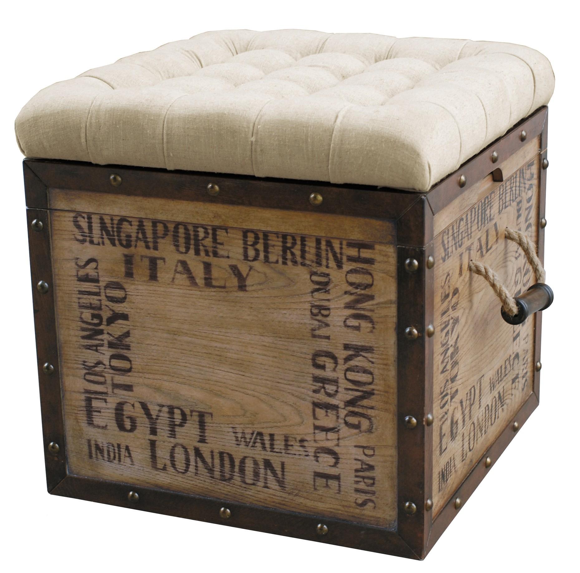 City Slicker Storage Ottoman From Pulaski Coleman Furniture