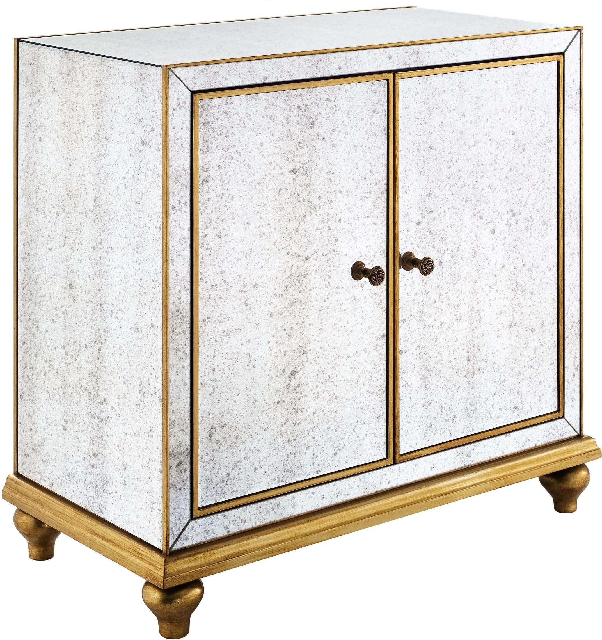 Antique Mirrored Wine Door Cabinet from Pulaski | Coleman ...