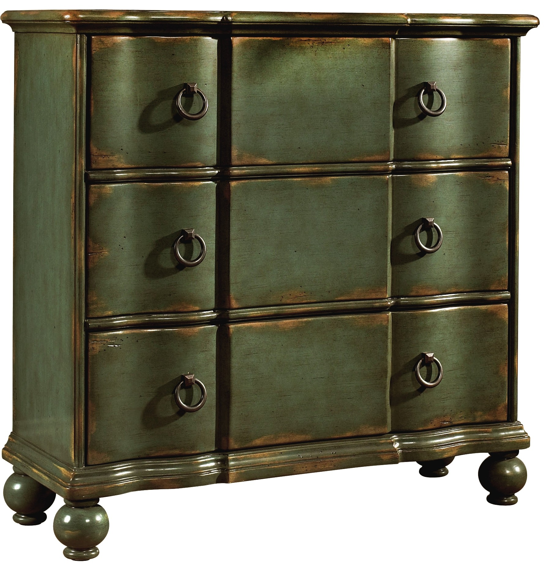 Three drawers hall chest from pulaski coleman furniture