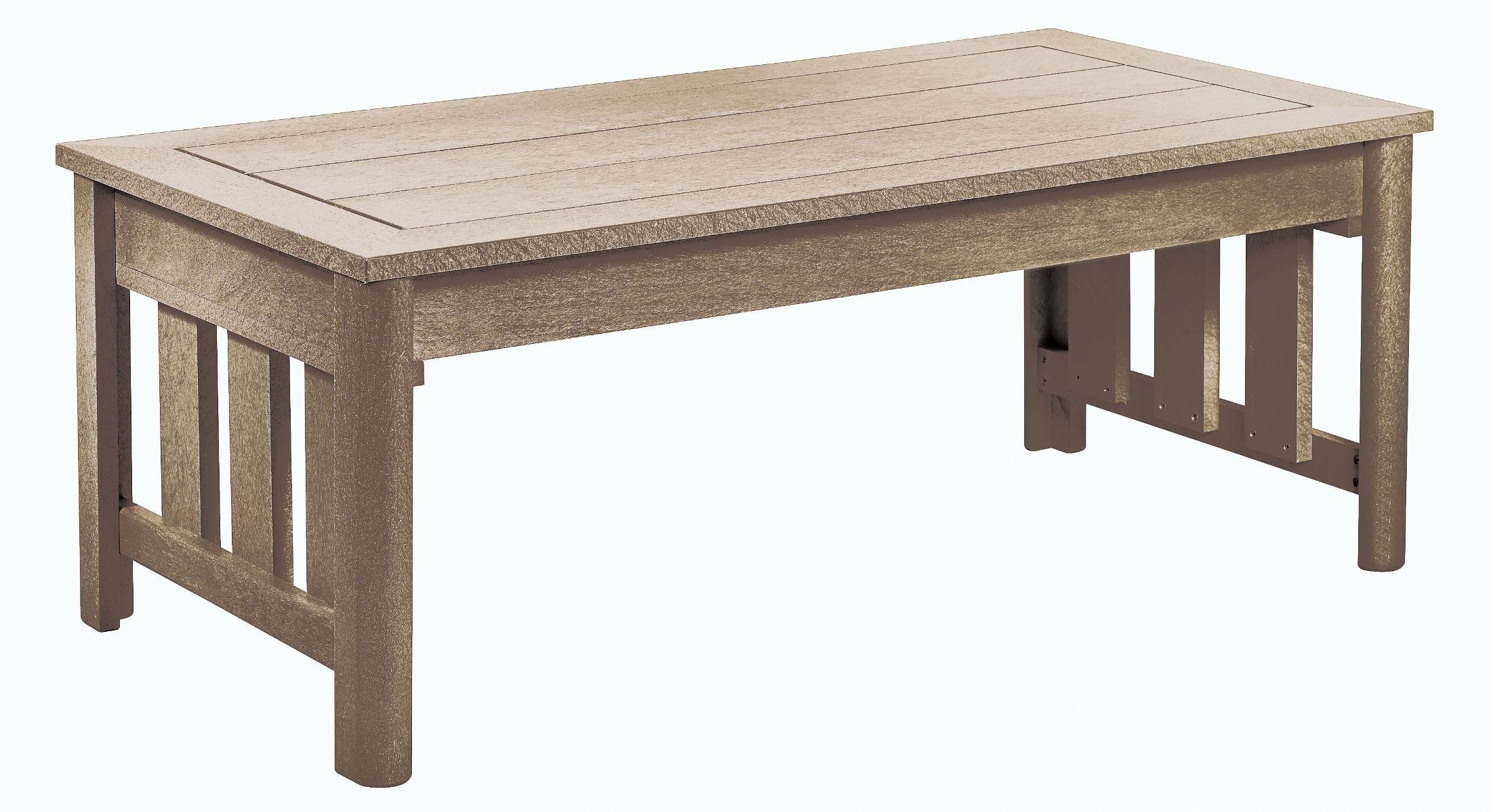 Stratford beige coffee table from cr plastic dst147 07 for 07 08 championship table