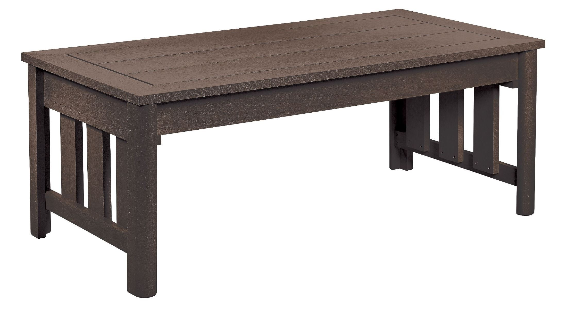 Stratford Chocolate Coffee Table From Cr Plastic Dst147 16 Coleman Furniture