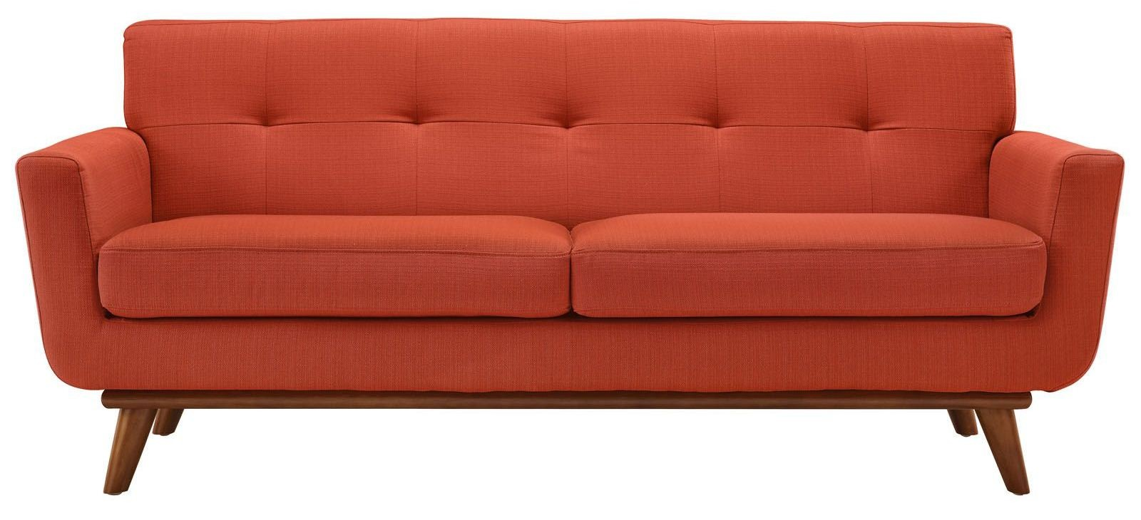 Engage Atomic Red Upholstered Loveseat From Renegade Eei 1179 Coleman Furniture